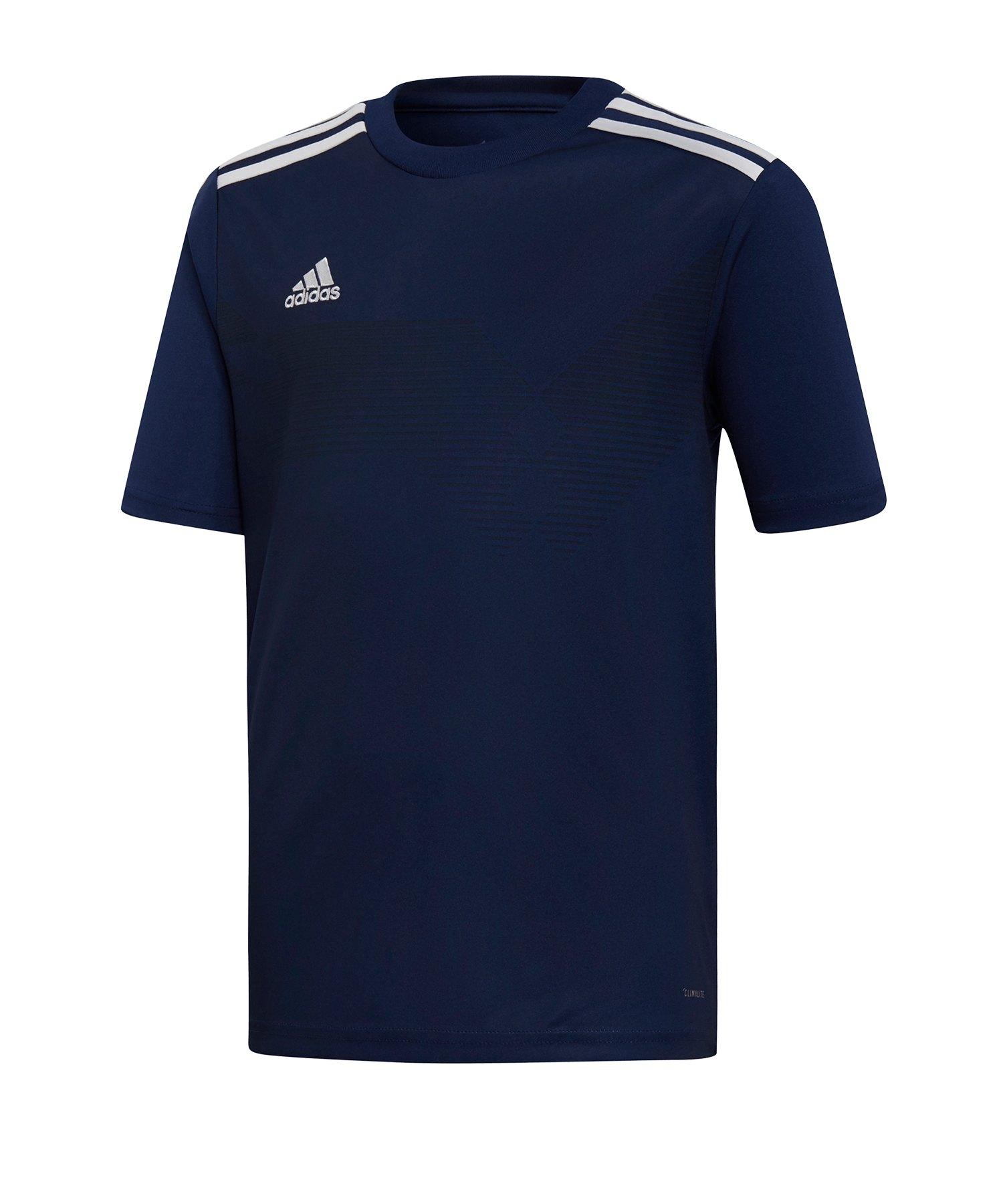 adidas Campeon 19 Trikot kurzarm Kids Blau Weiss - blau