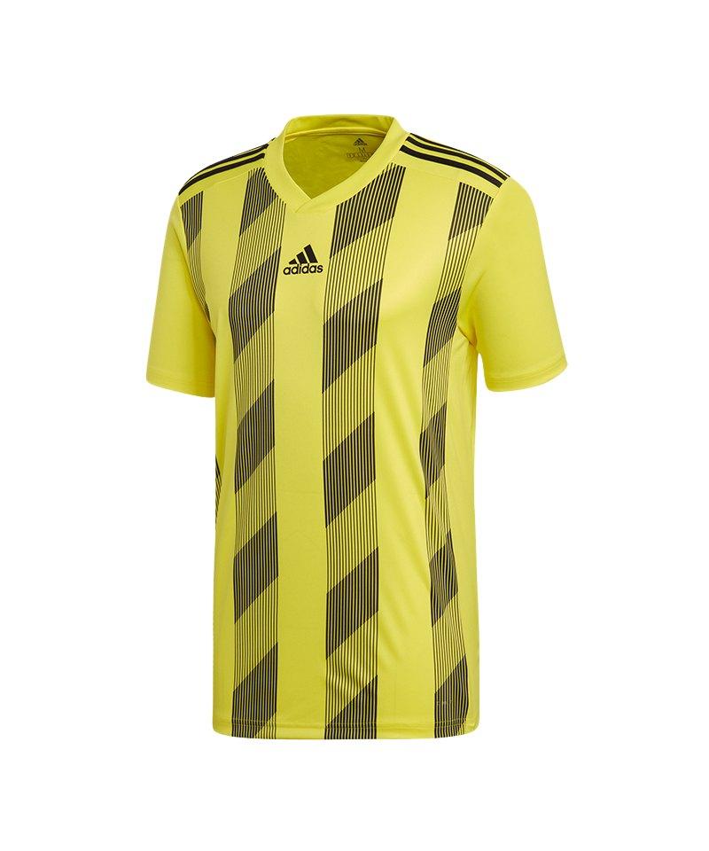 adidas Striped 19 Trikot kurzarm Kids Gelb Schwarz - gelb