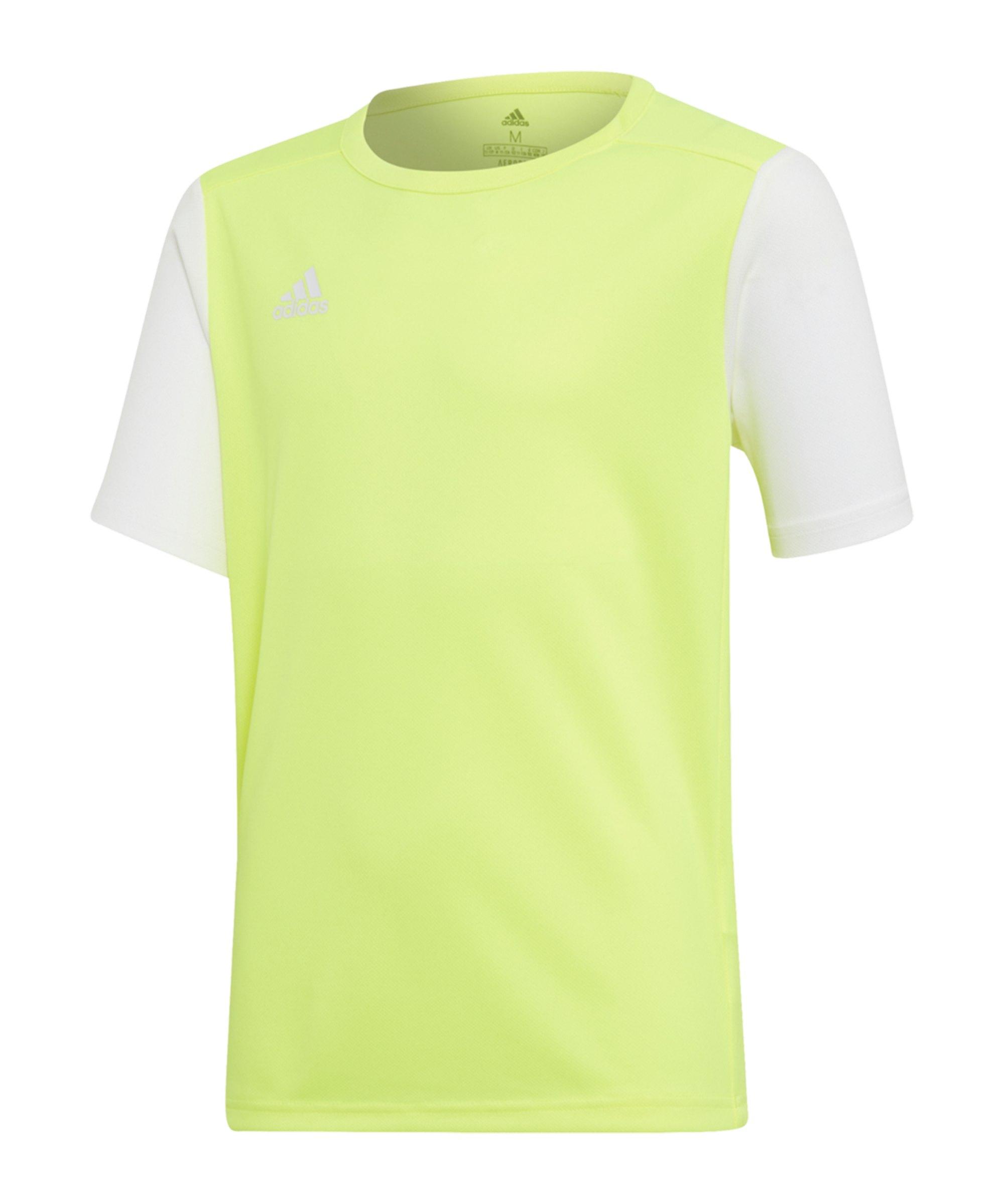 adidas Estro 19 Trikot kurzarm Kids Gelb - gelb