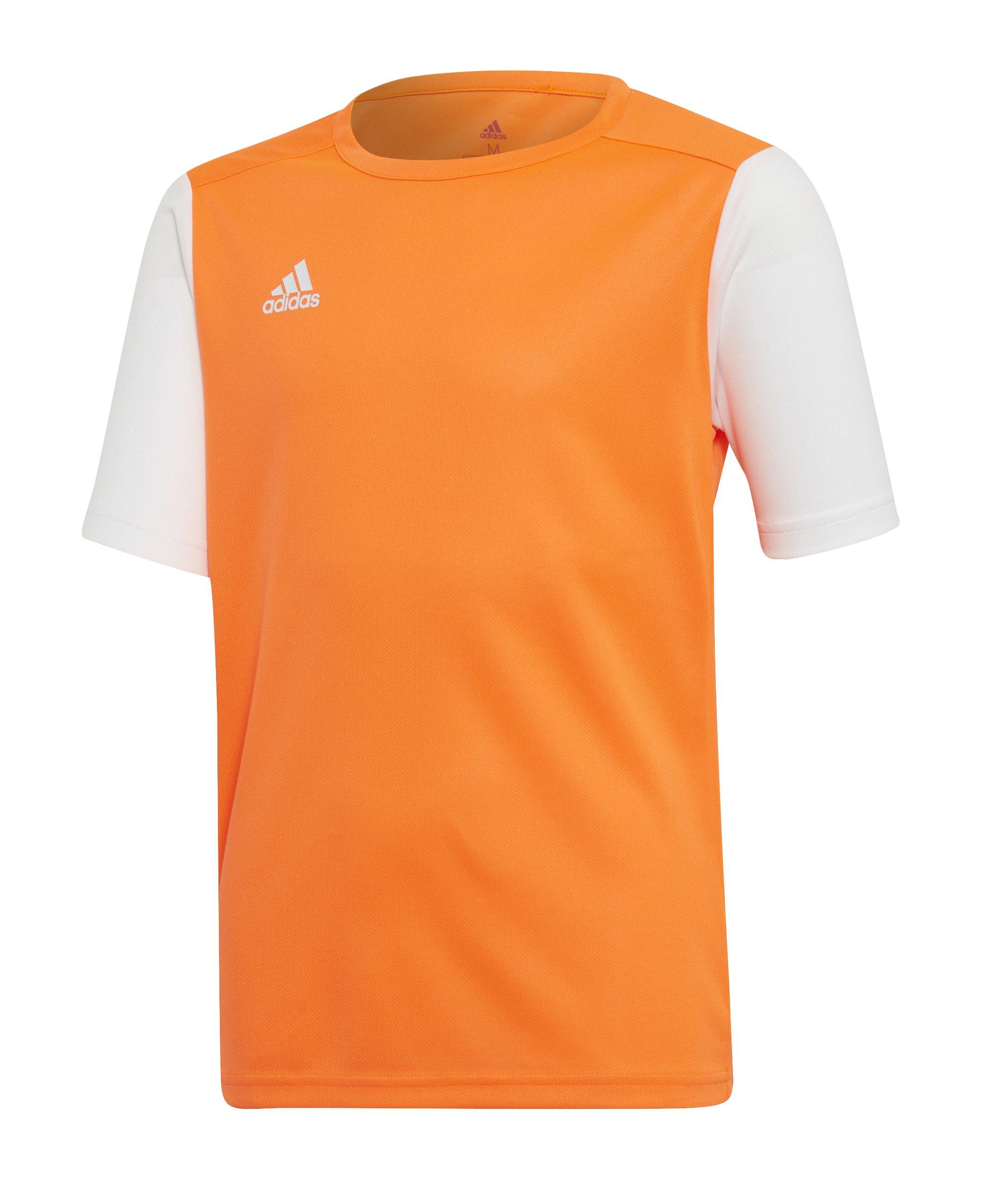 adidas Estro 19 Trikot kurzarm Kids Orange Weiss - orange
