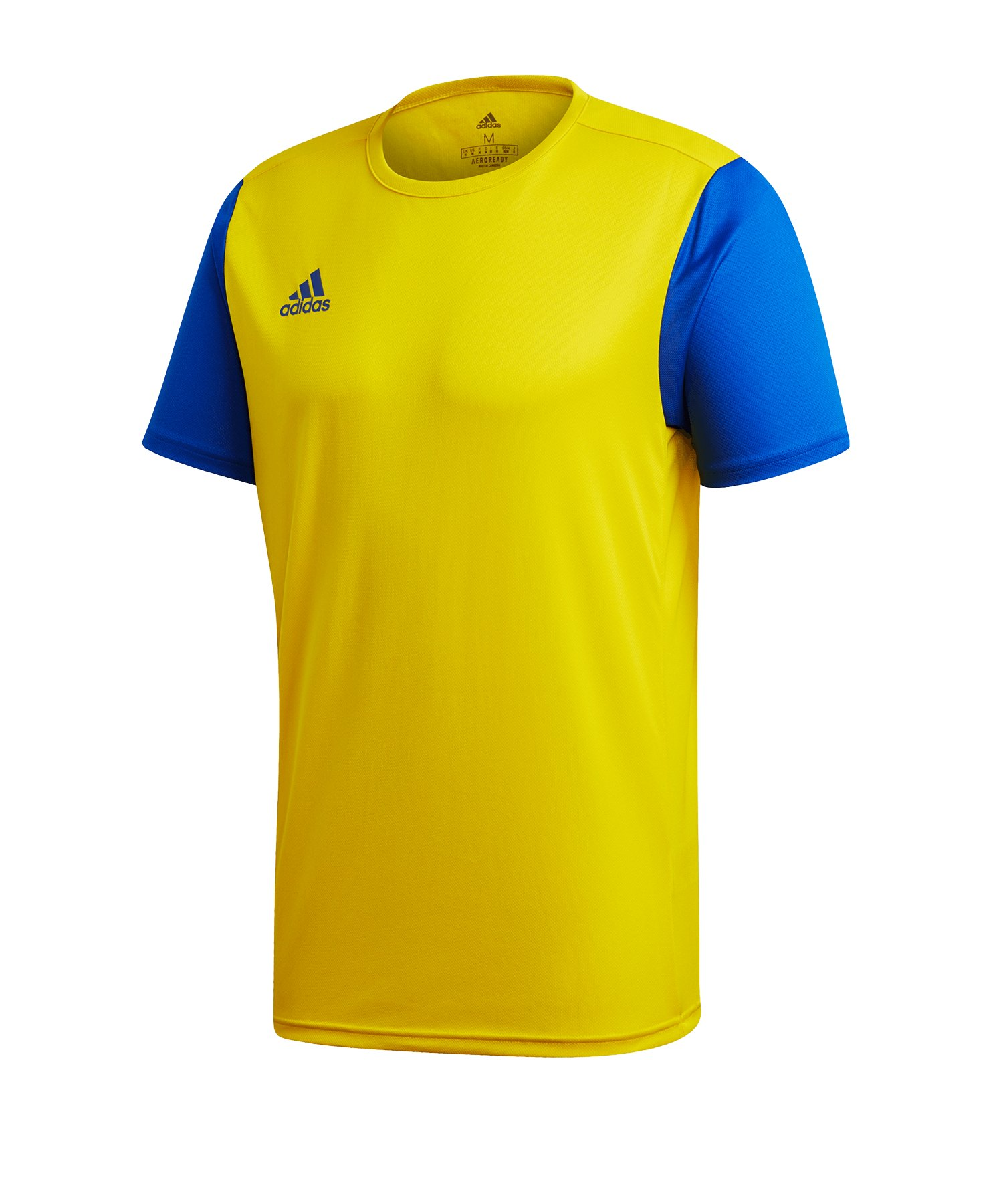 adidas Estro 19 Trikot kurzarm Gelb Blau - gelb