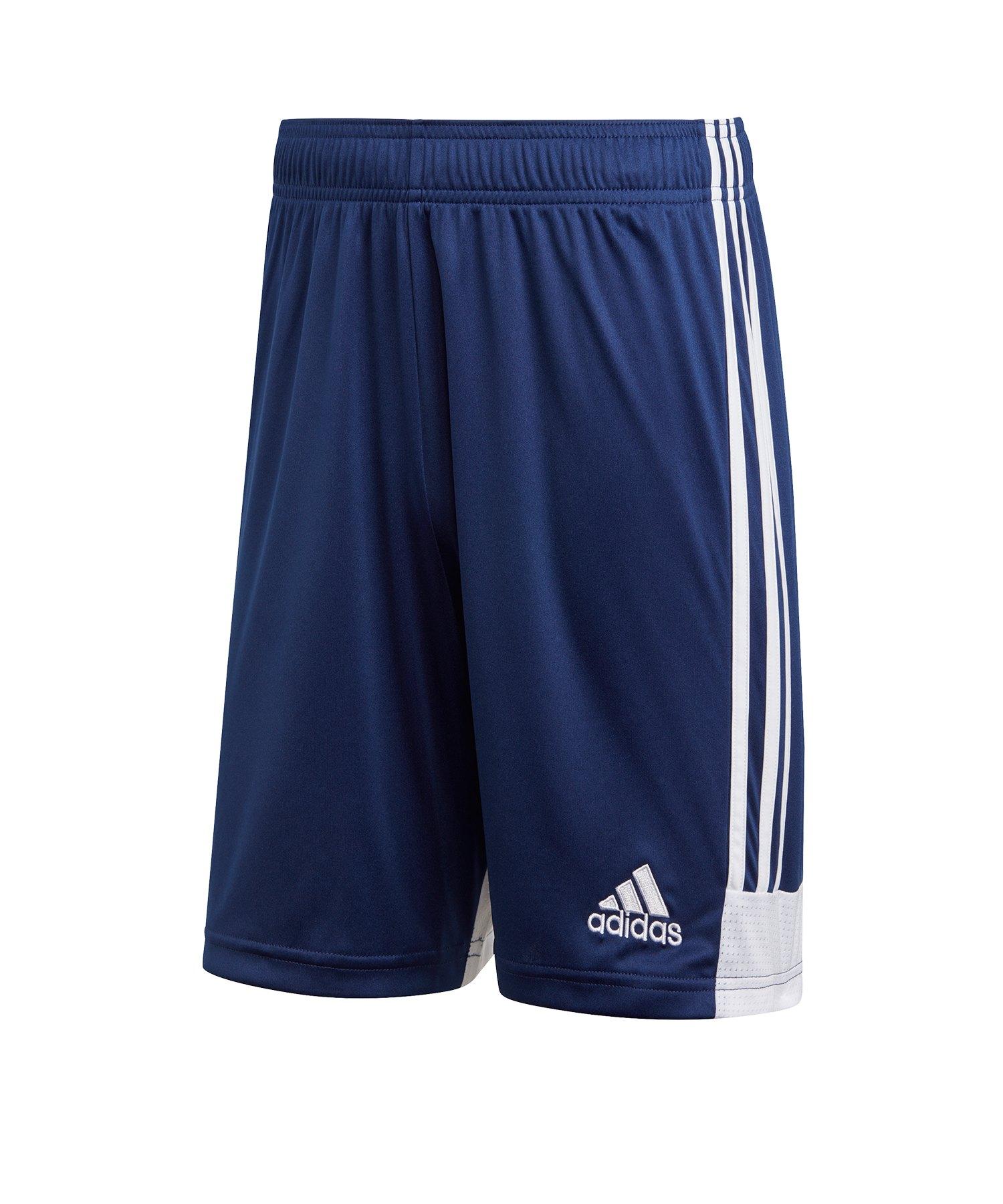 adidas Tastigo 19 Short Dunkelblau Weiss - blau