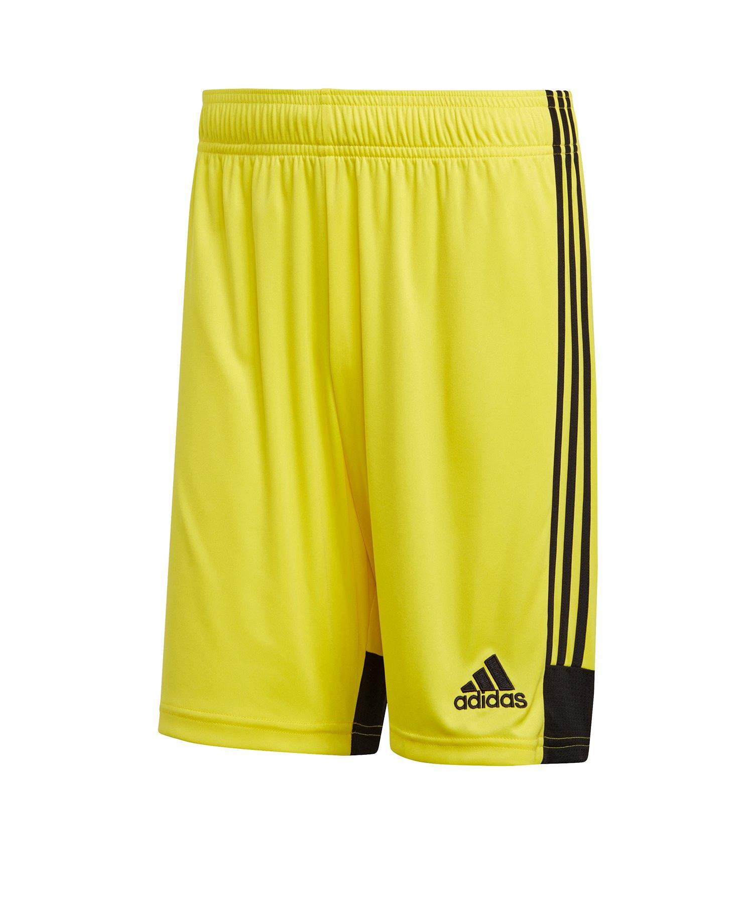 adidas Tastigo 19 Short Gelb Schwarz - gelb