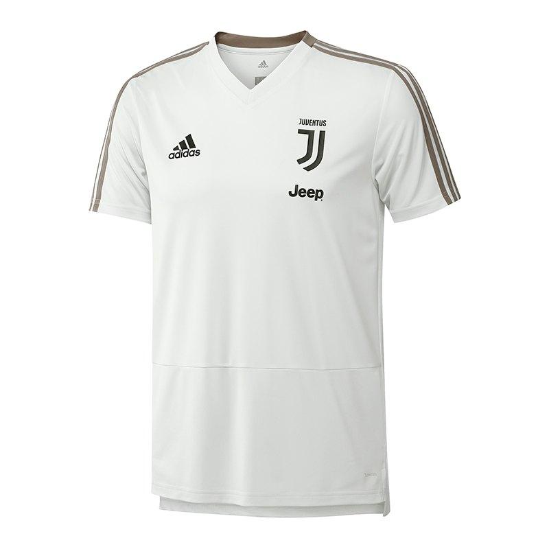 adidas Juventus Turin Trainingsshirt Weiss - weiss