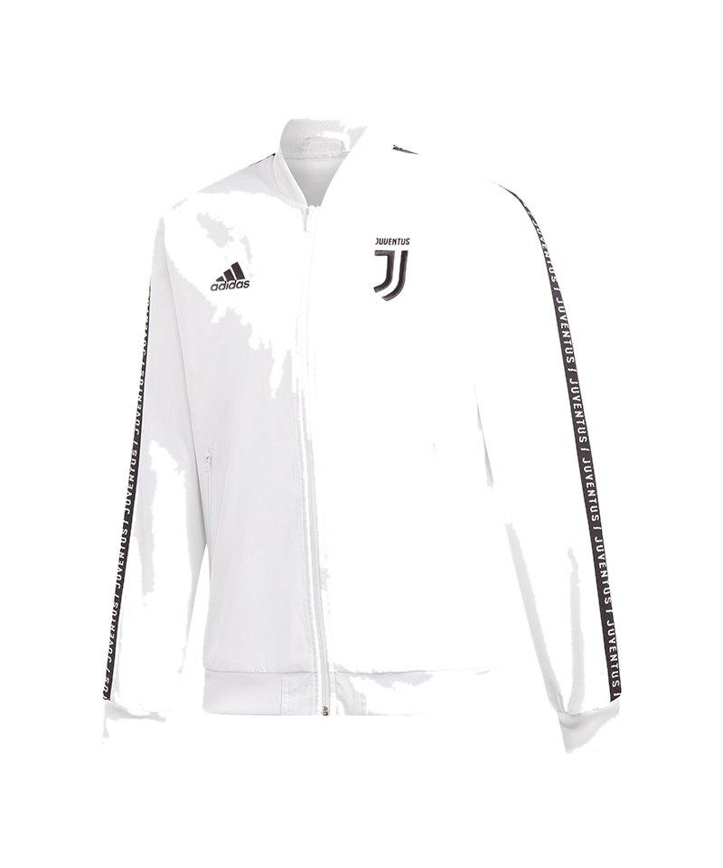 adidas Juventus Turin Anthem Jacket Jacke Weiss - weiss