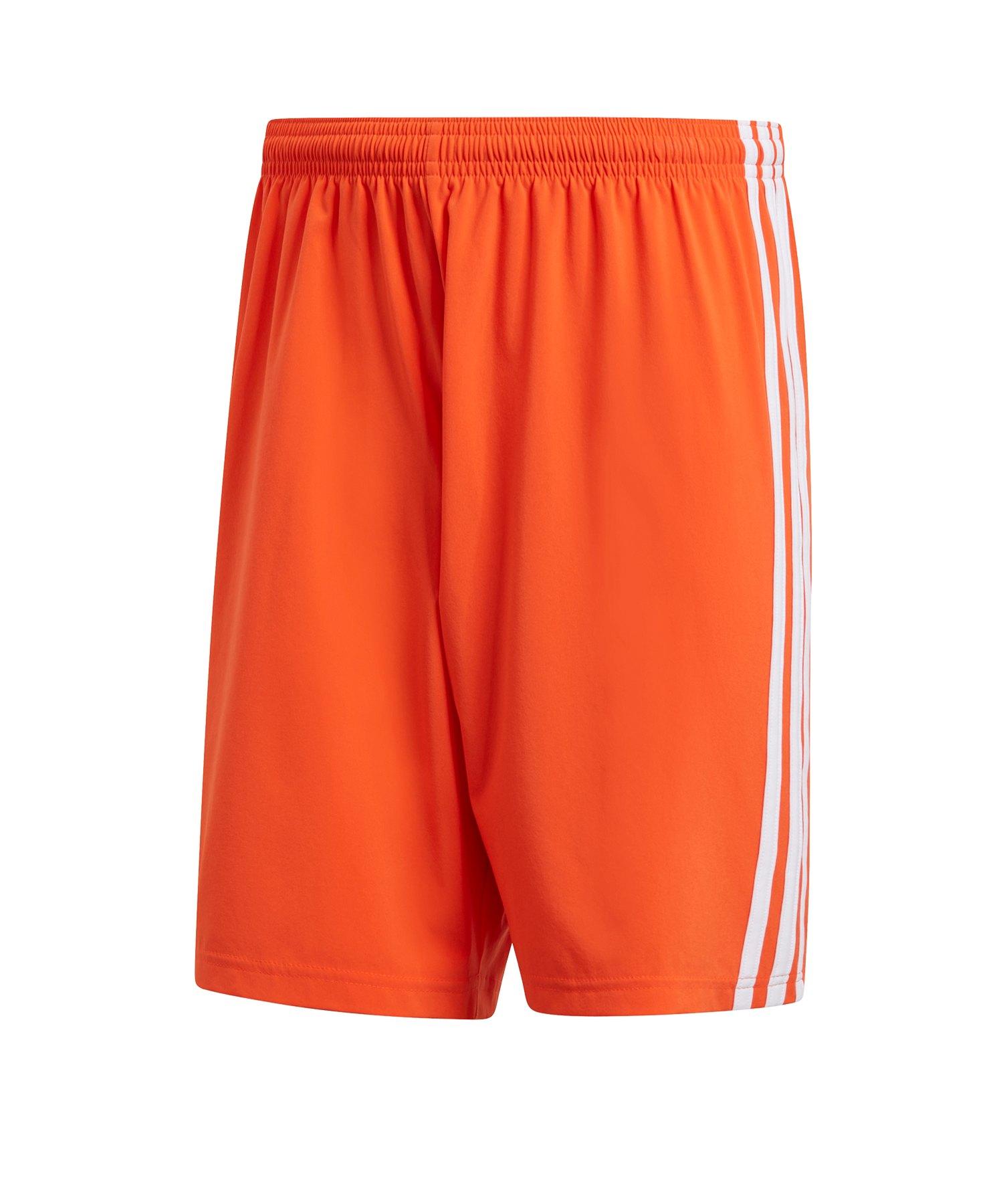 adidas Condivo 18 Short Orange Weiss - orange