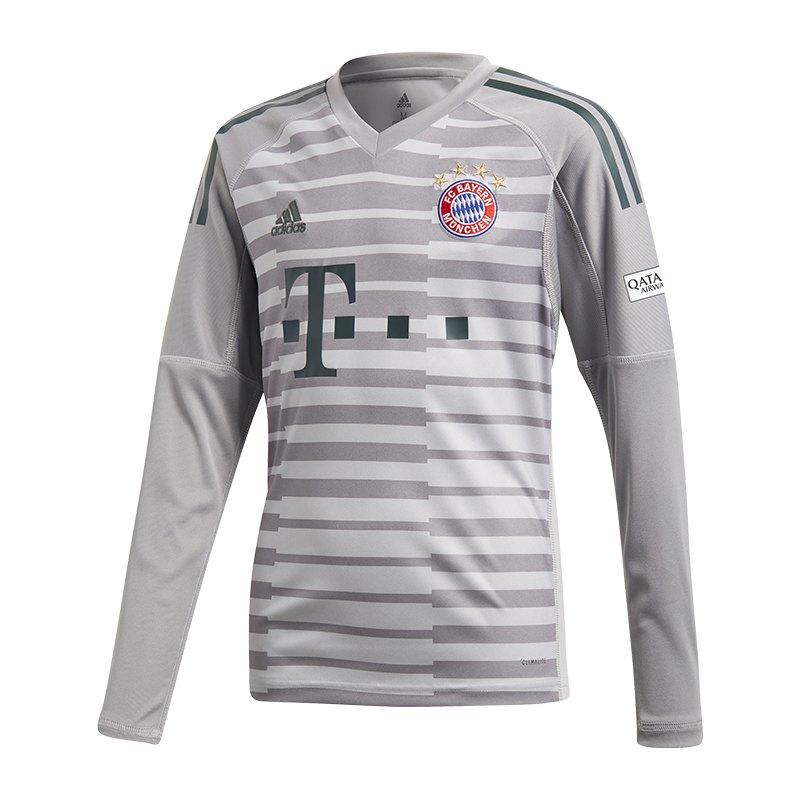 adidas FC Bayern München TW-Trikot Home Kids 18/19 - grau