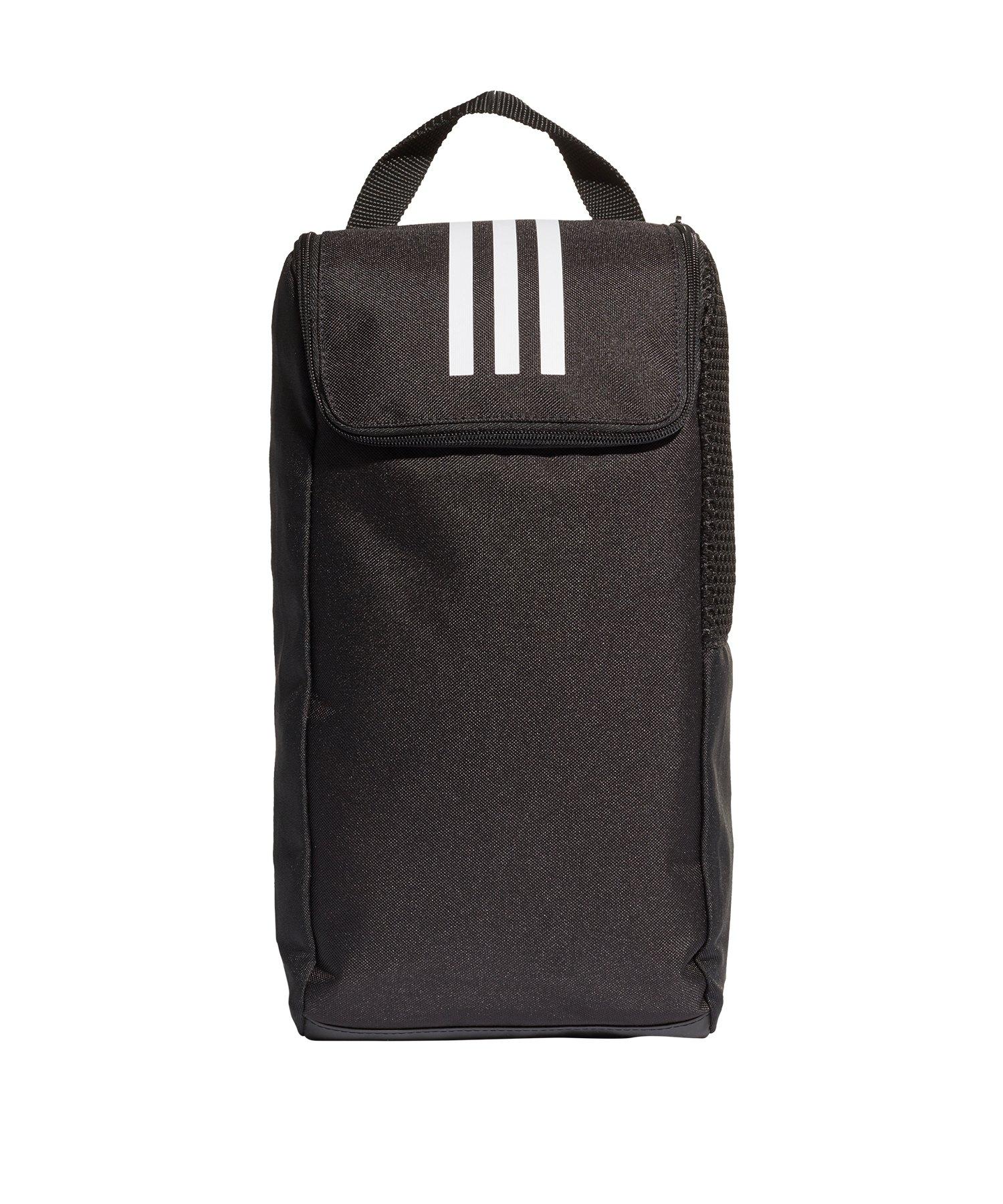 adidas Tiro Shoe Bag Schuhtasche Schwarz Weiss - schwarz