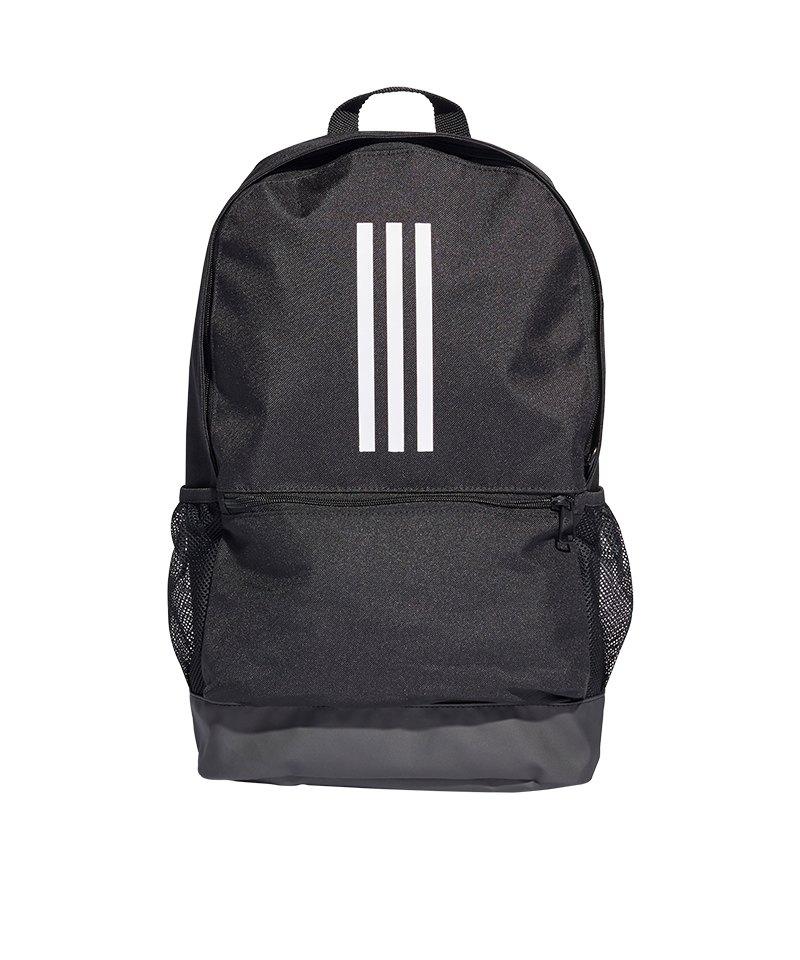 adidas Tiro Backpack Rucksack Schwarz Weiss - schwarz