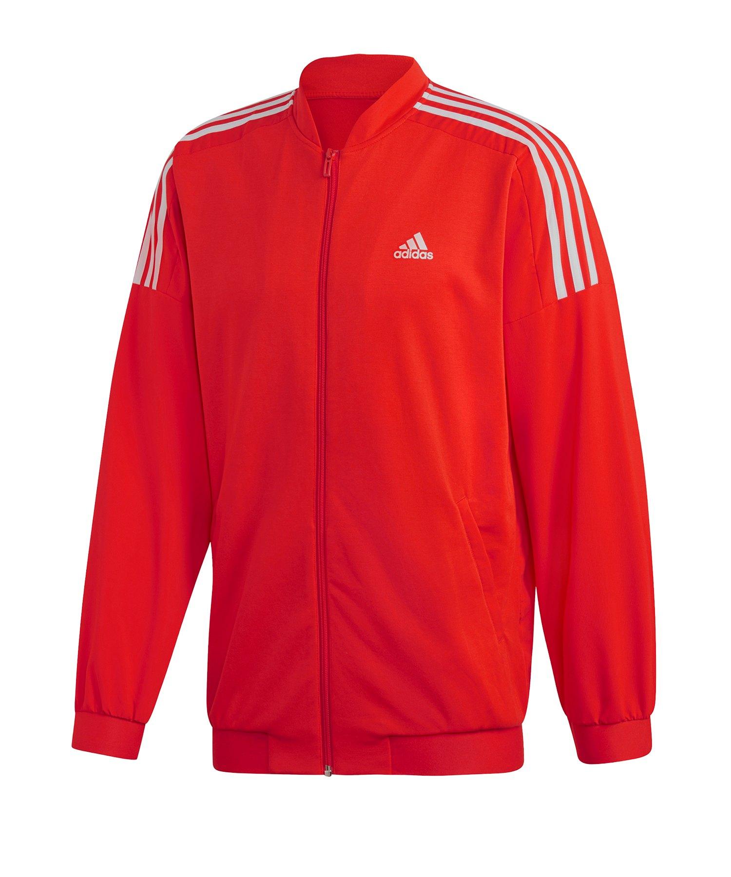 adidas Sport ID Woven Bomberjacket Jacke Rot - rot