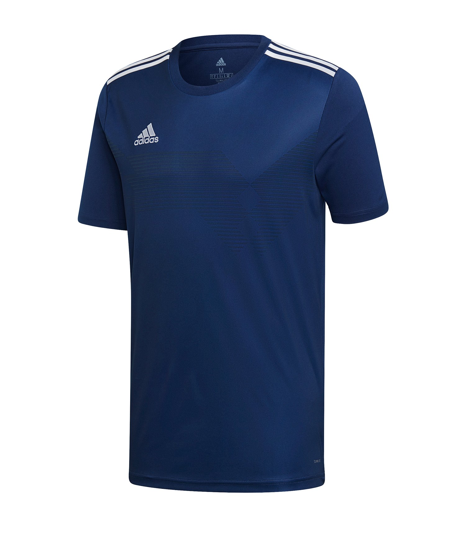 adidas Campeon 19 Trikot Dunkelblau Weiss - blau