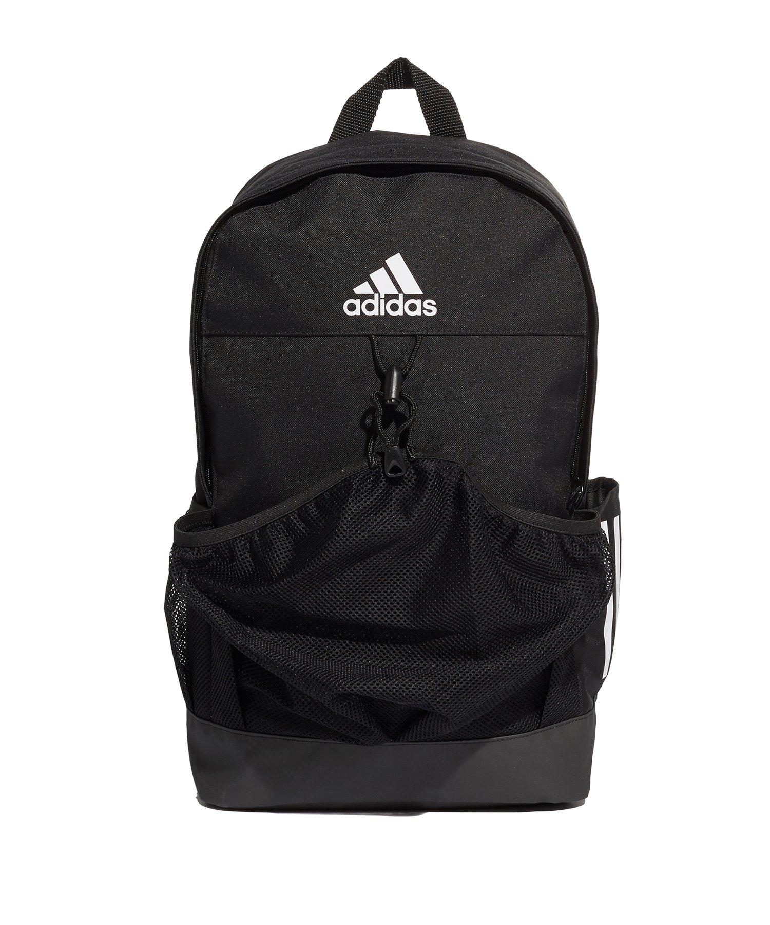 adidas Tiro Backpack BN Rucksack Schwarz Weiss - schwarz