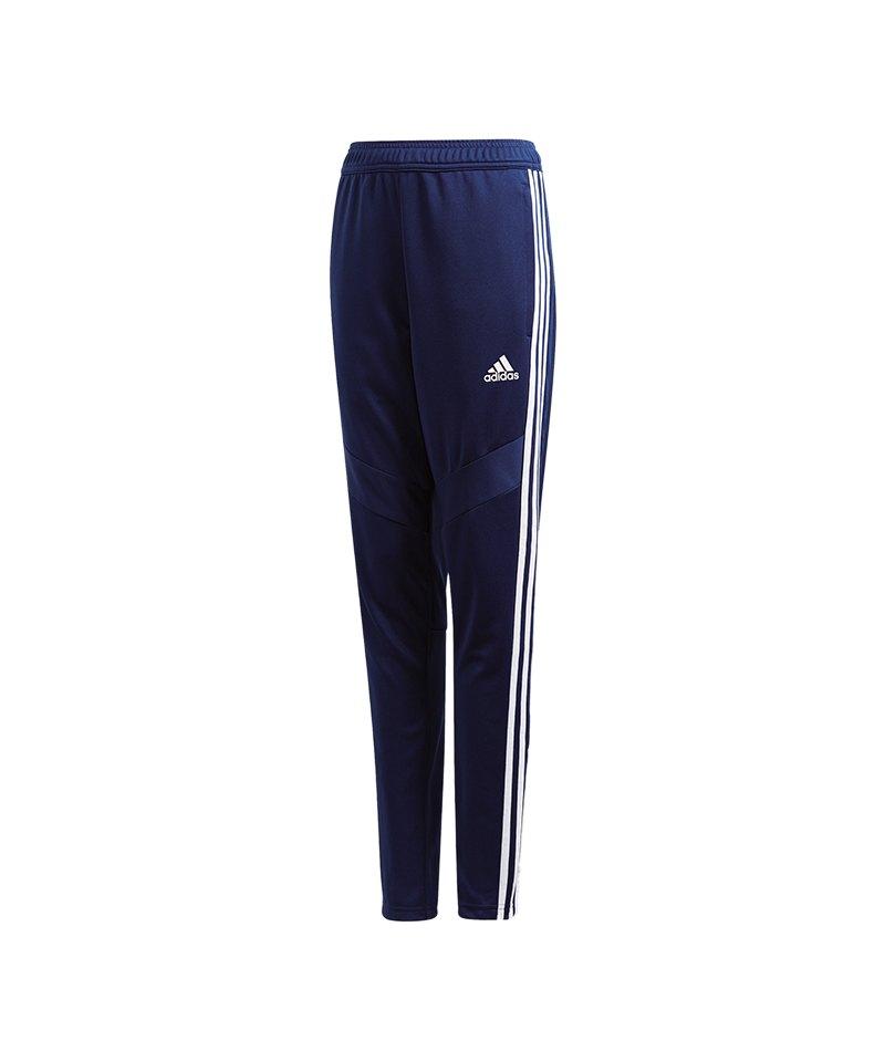 adidas Tiro 19 Trainingshose Pant Kids Dunkelblau - blau