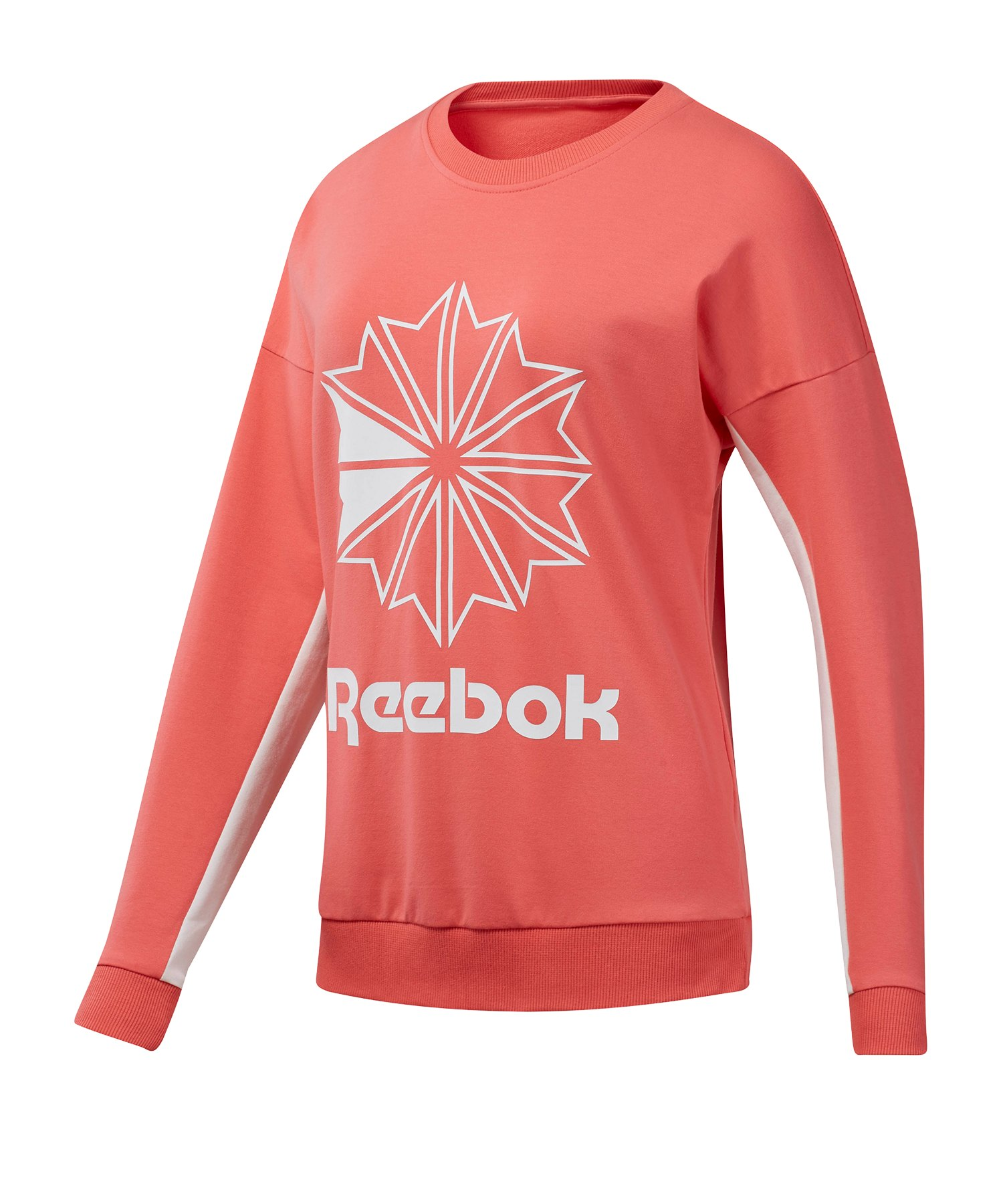 Reebok Classics FT Big Logo Sweatshirt Damen Pink - pink