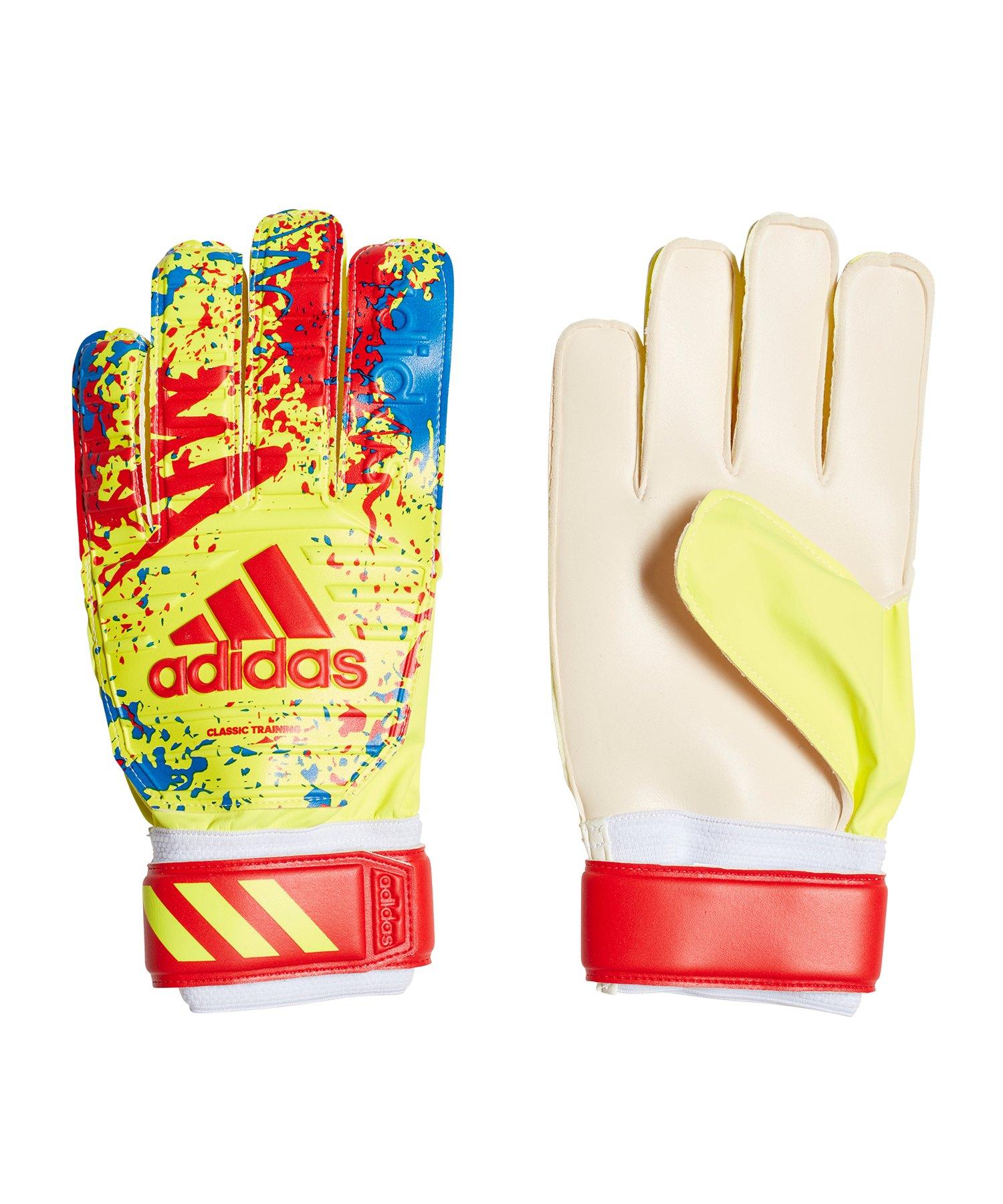 adidas Classic Training TW-Handschuh Gelb Rot - gelb
