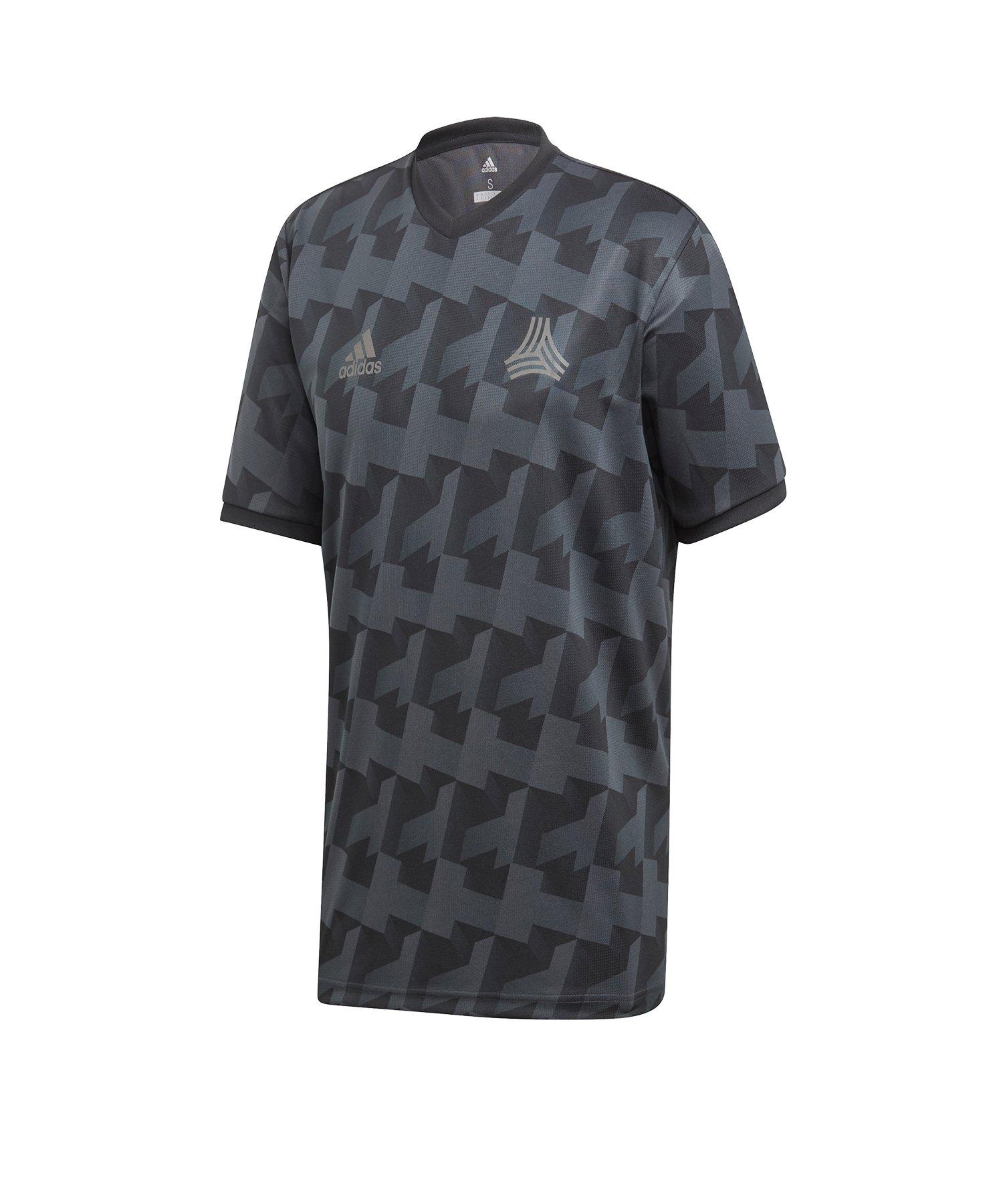 adidas Tango All Over Print T-Shirt Grau - grau