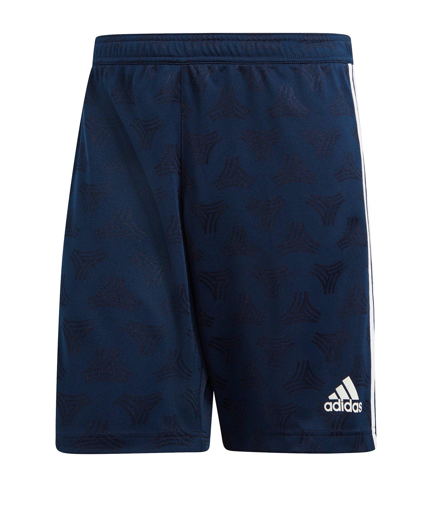adidas Tango Jacquard Short Blau - blau
