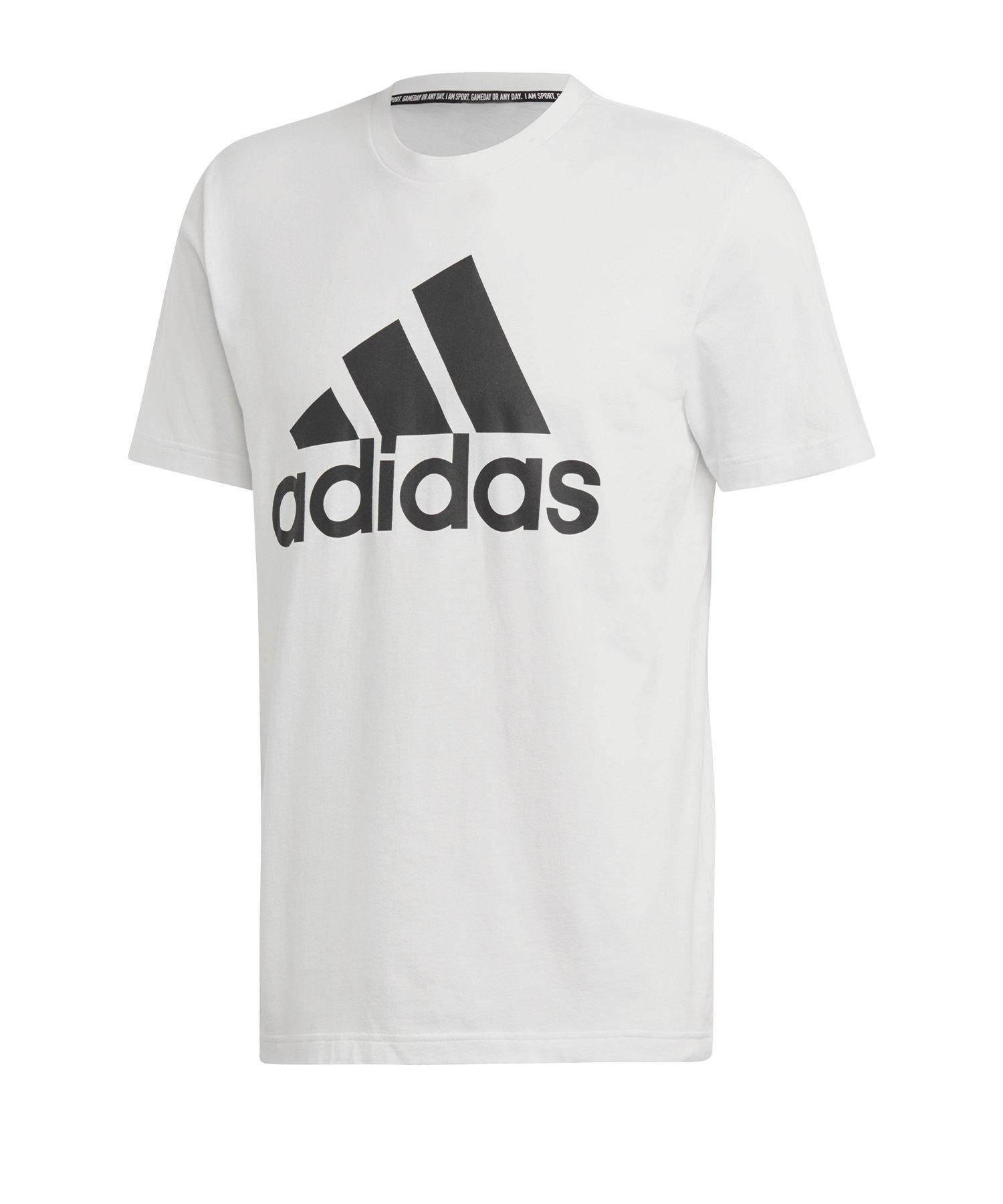 adidas MH Badge of Sport T-Shirt Weiss - weiss