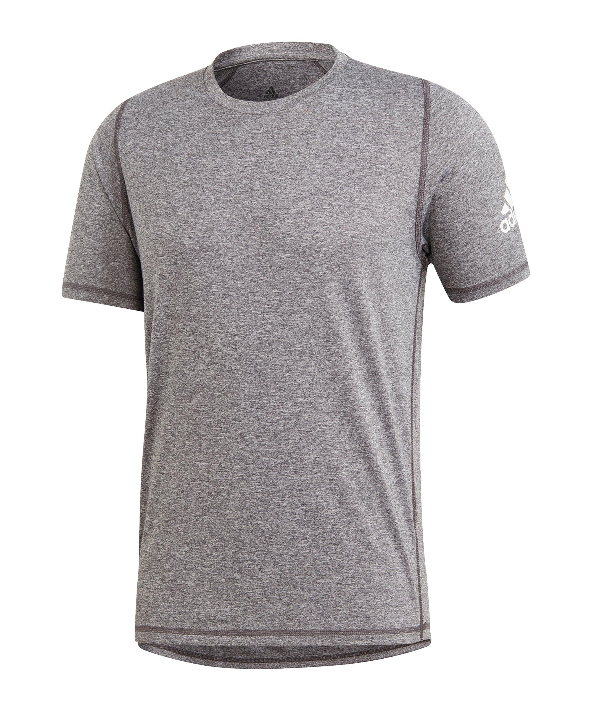 adidas Freelift Ultimate Heather T-Shirt Grau - grau
