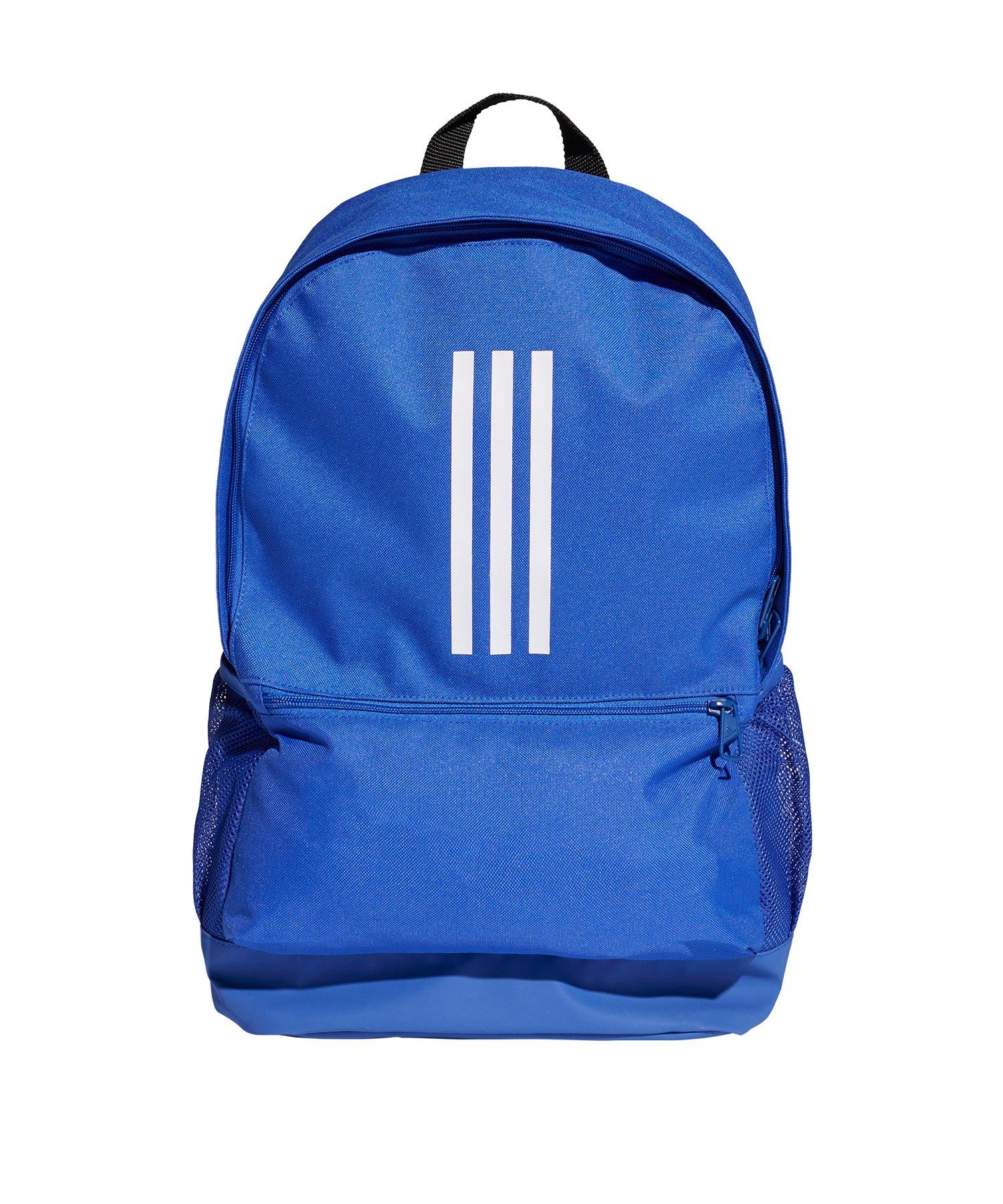 adidas Tiro Backpack Rucksack Blau Weiss - blau