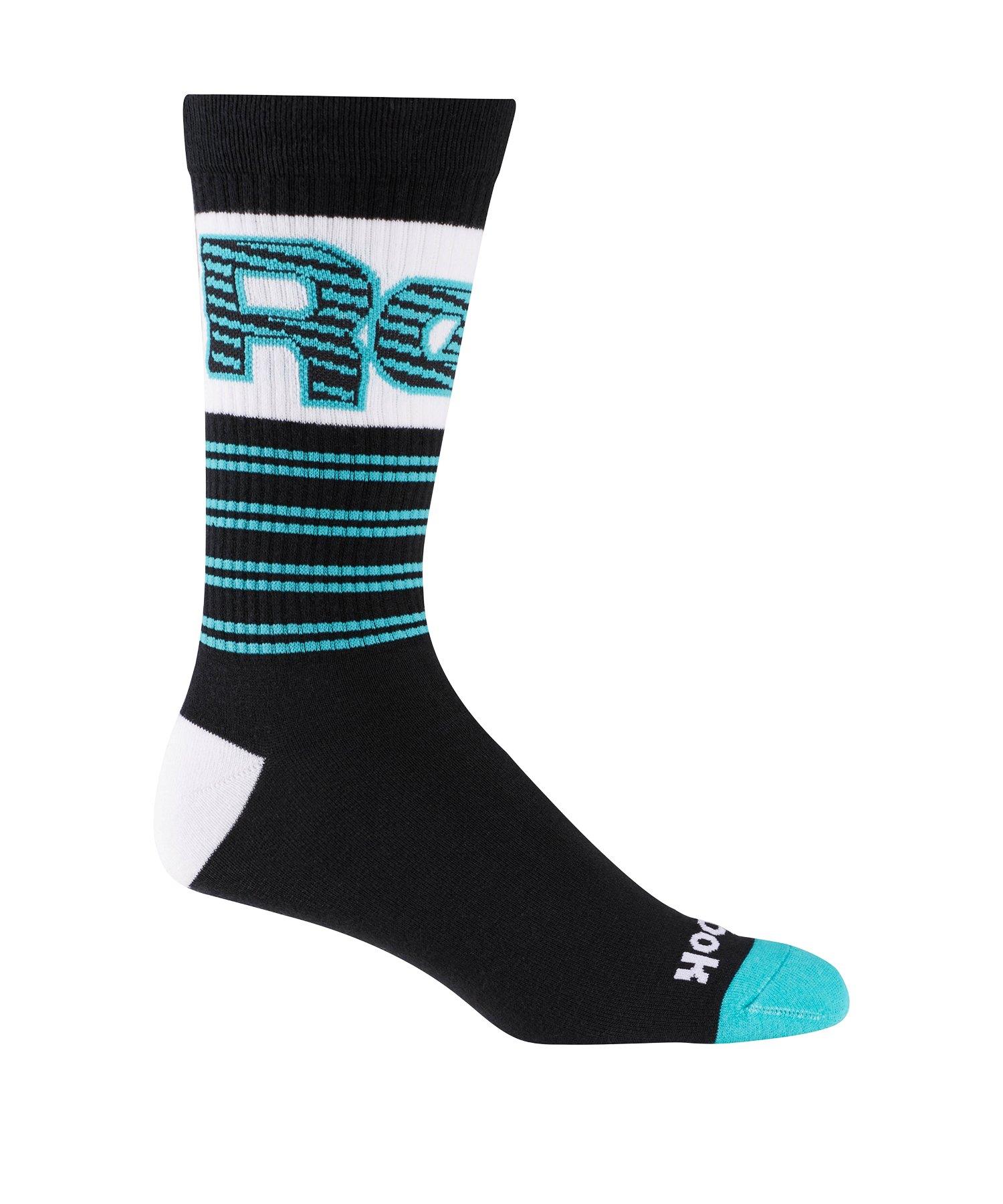 Reebok Classics Basketball Crew Socken Schwarz - schwarz