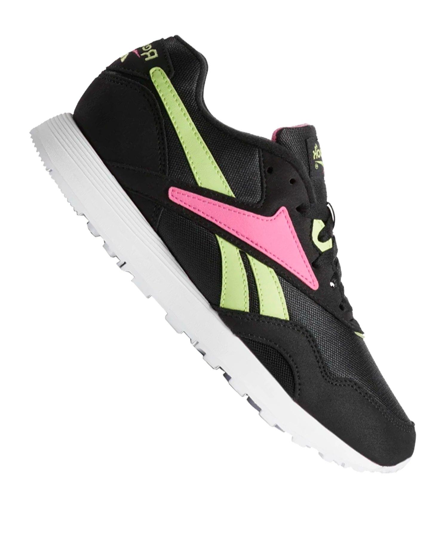 Reebok Rapide Sneaker Schwarz Pink - schwarz