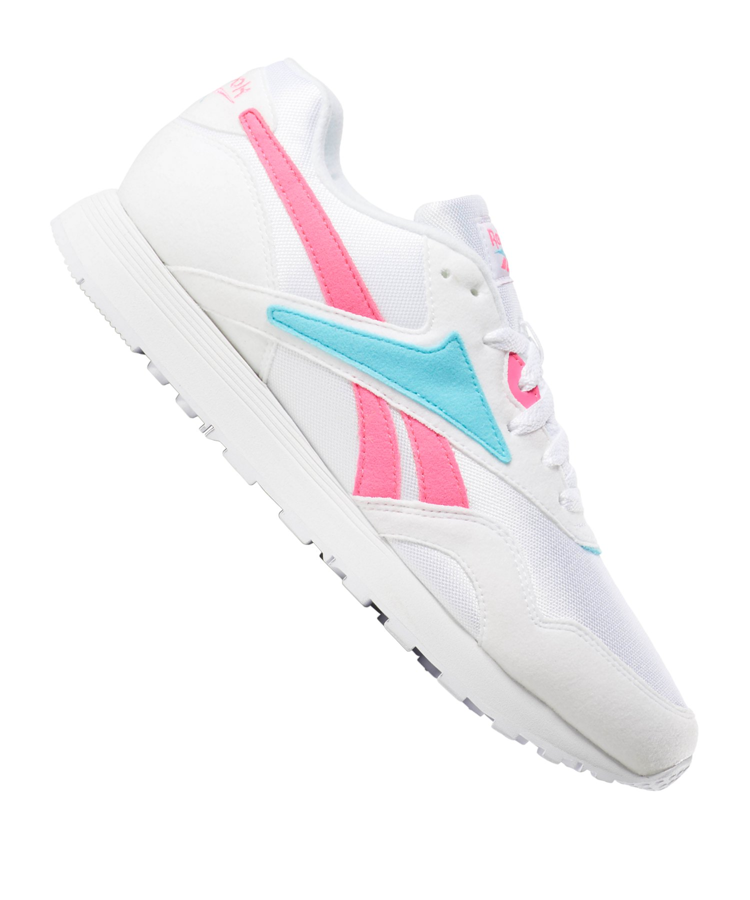 Reebok Rapide MU Sneaker Damen Weiss Pink - weiss