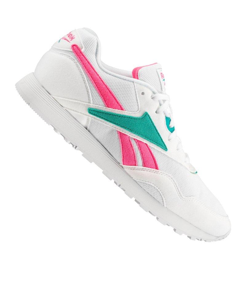 Reebok Rapide MU Sneaker Weiss Pink Grün - weiss