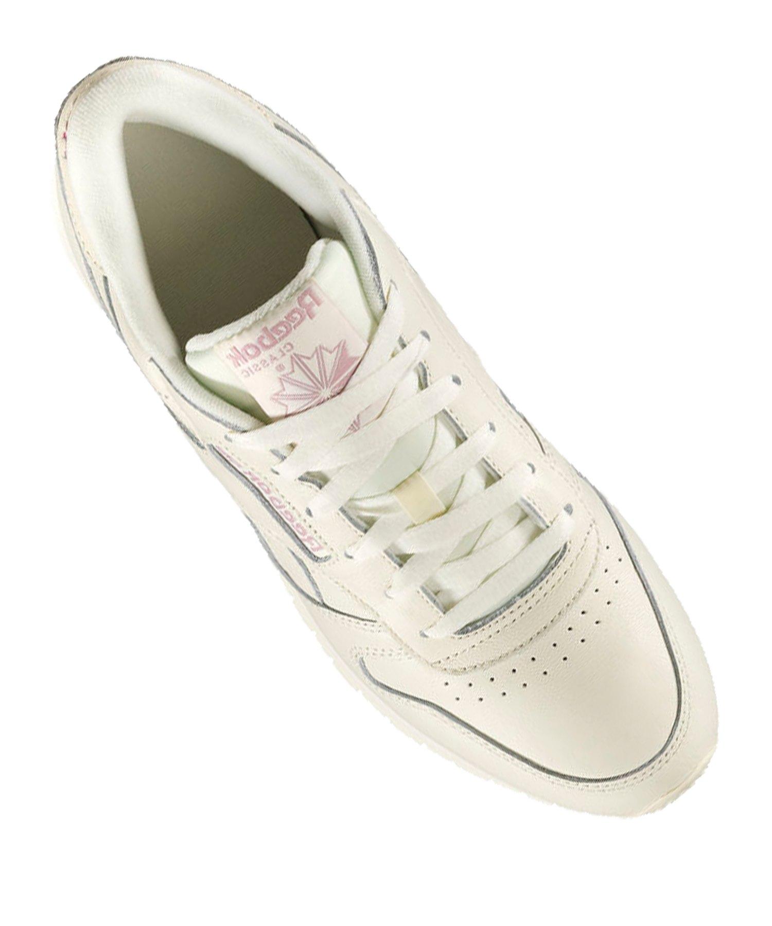 meet dfbc8 25aab Reebok Classic Leather Sneaker Damen Weiss