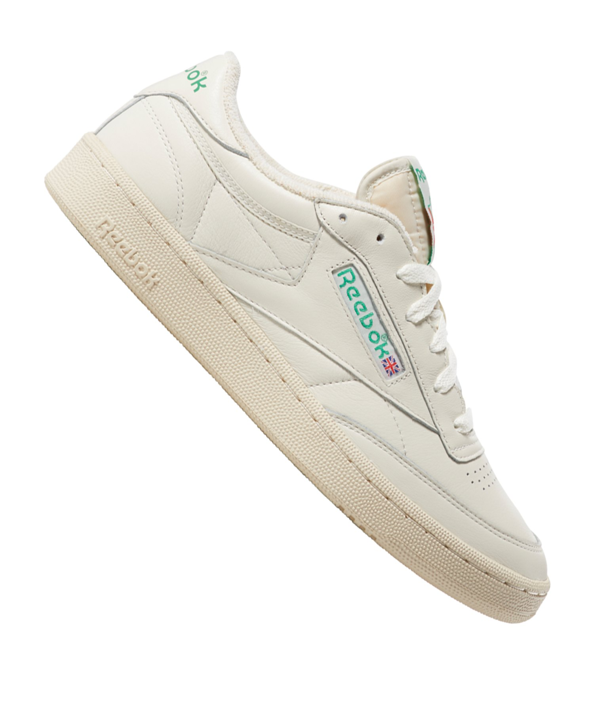 Reebok Club C 1985 TV Sneaker Grau Grün - grau