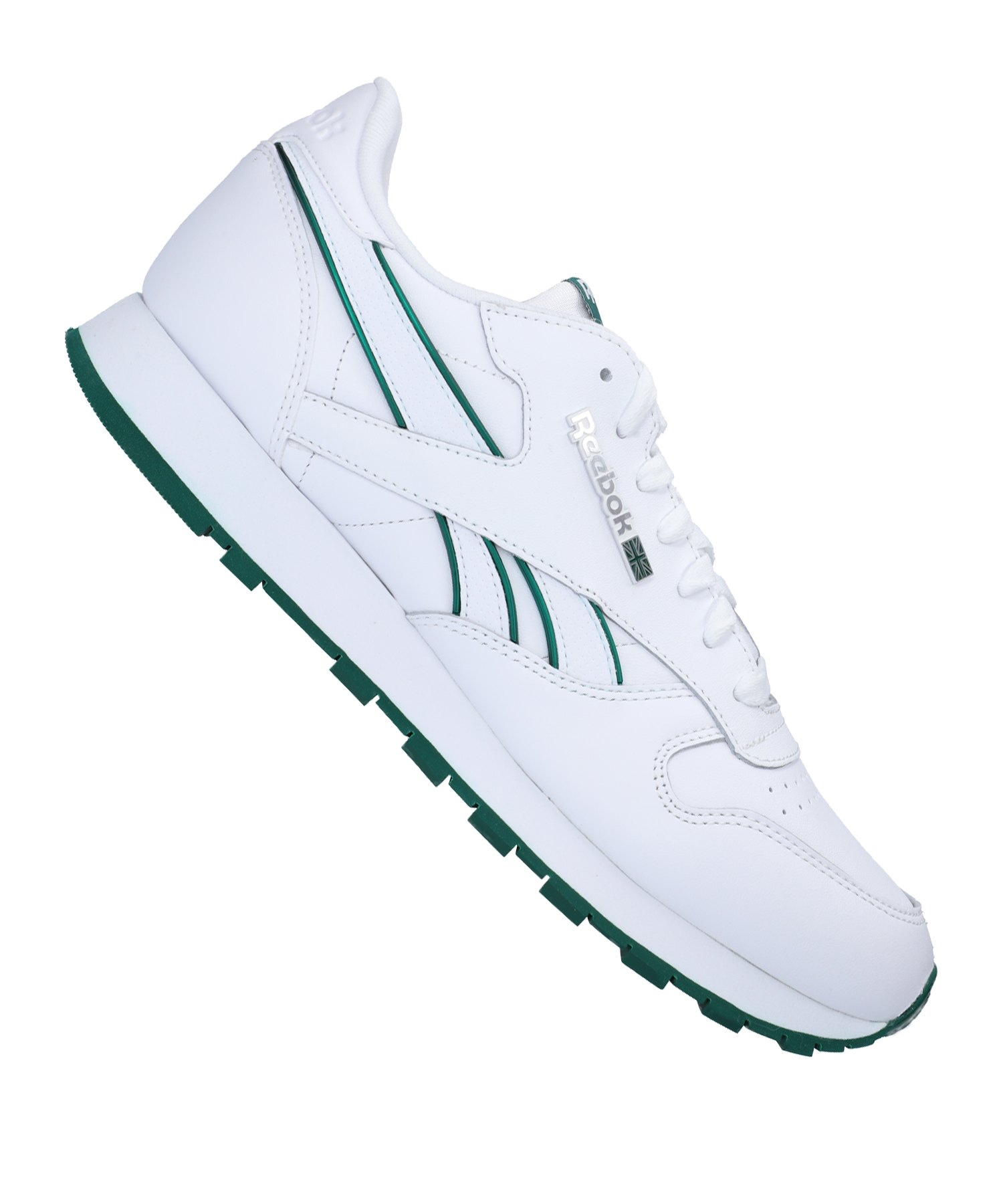 Weiss Reebok Leather Classic Sneaker MU l53JuFK1cT