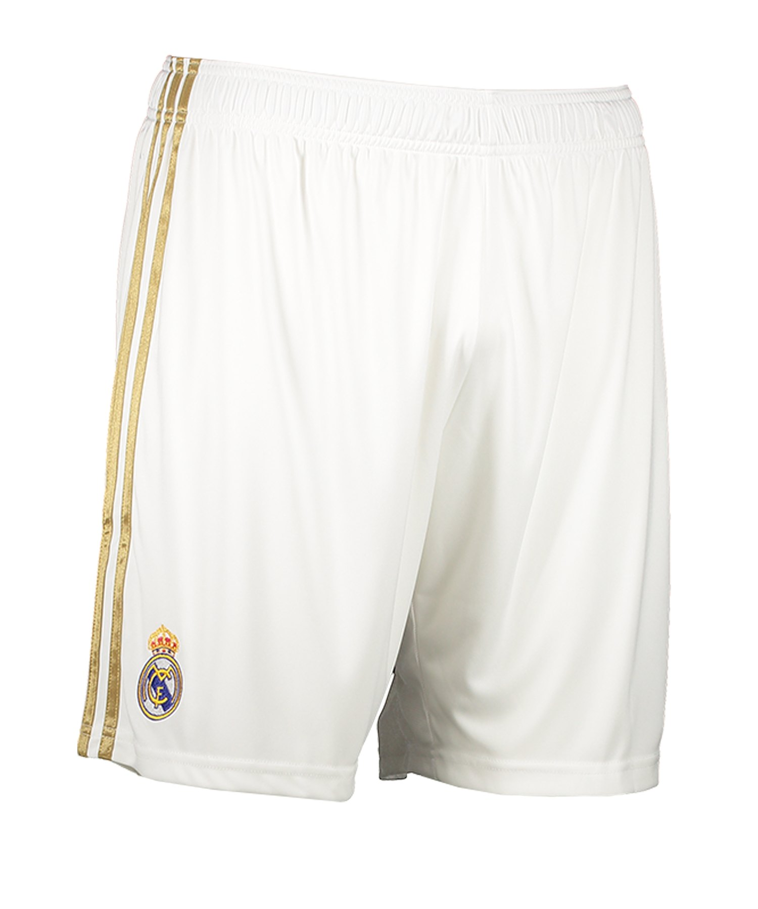adidas Real Madrid Short Home 2019/2020 Weiss - Weiss
