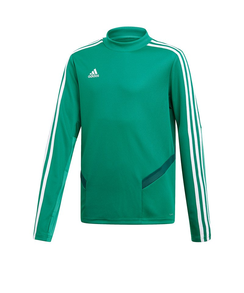 adidas Tiro 19 Trainingstop Kids Grün Weiss - gruen