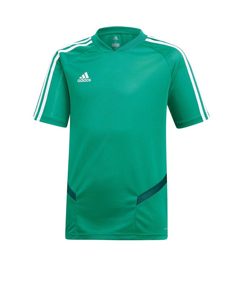adidas Tiro 19 Trainingsshirt Grün Weiss - gruen