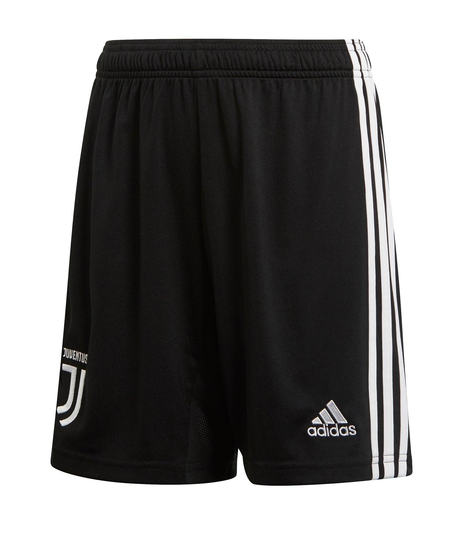 adidas Juventus Turin Short Home Kids 2019/2020 - Schwarz