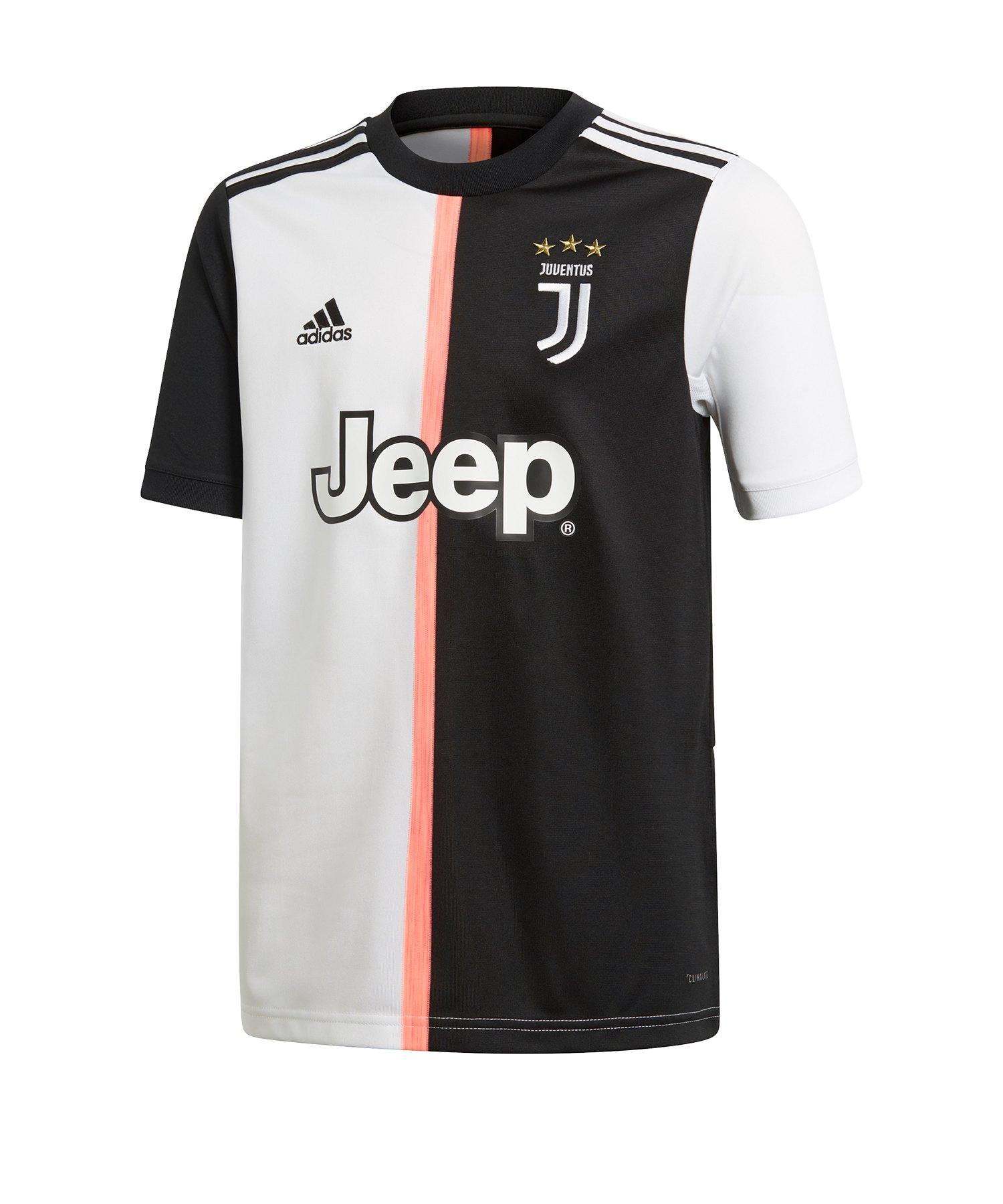 adidas Juventus Turin Trikot Home Kids 2019/2020 - Schwarz
