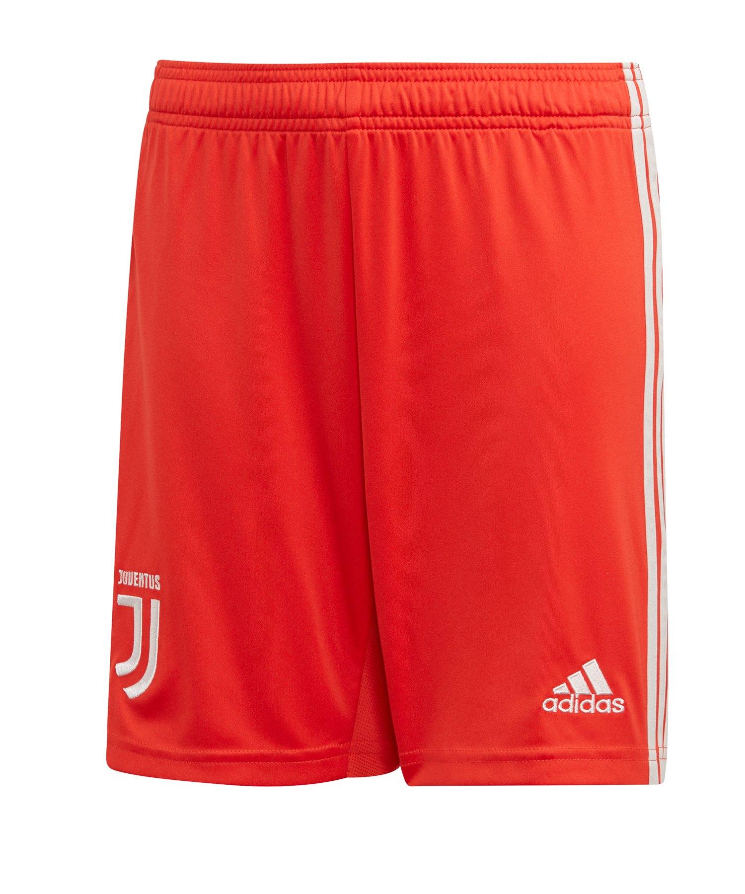 adidas Juventus Turin Short Away 2019/2020 Rot - Rot