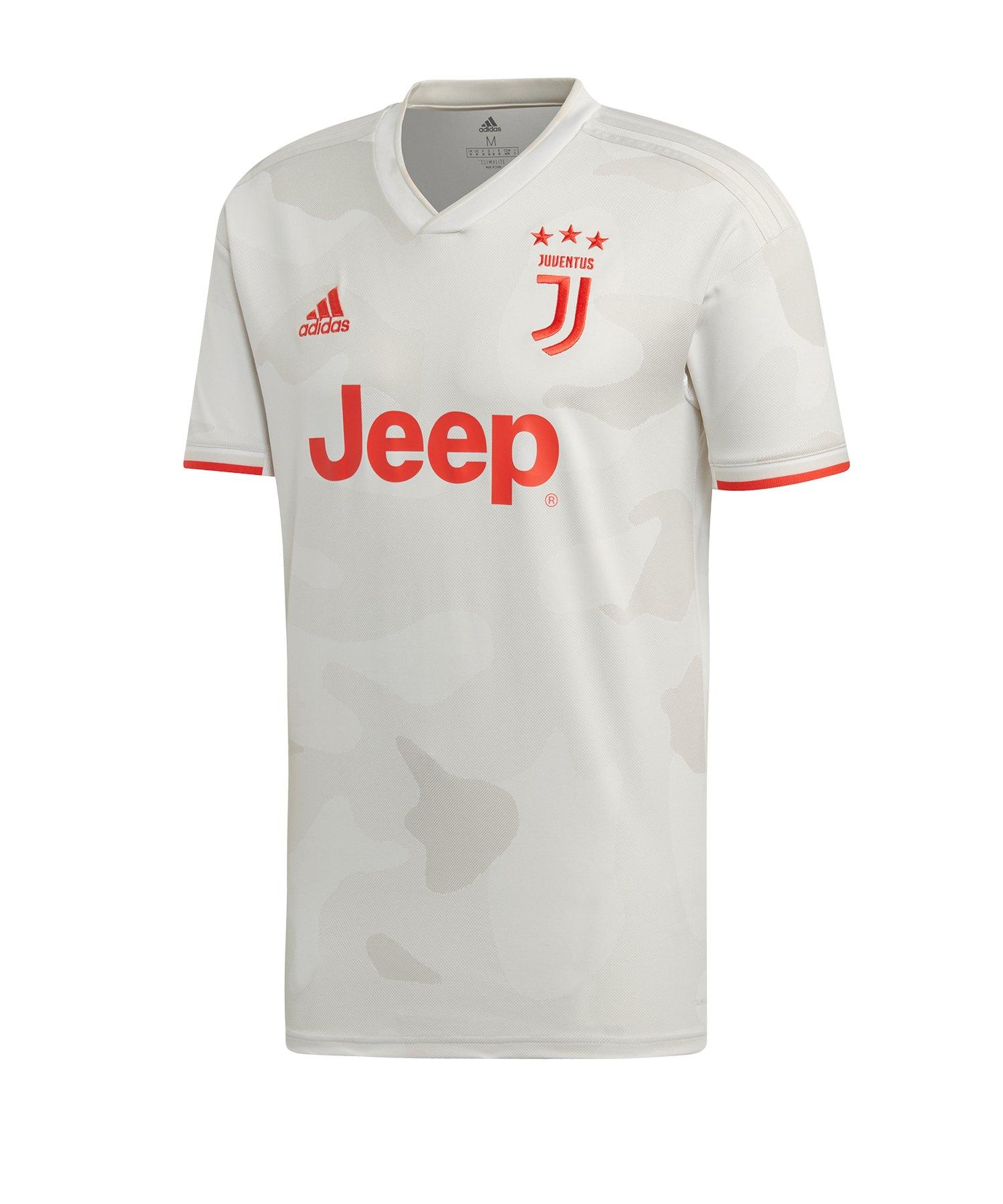 adidas Juventus Turin Trikot Away 2019/2020 Weiss - weiss