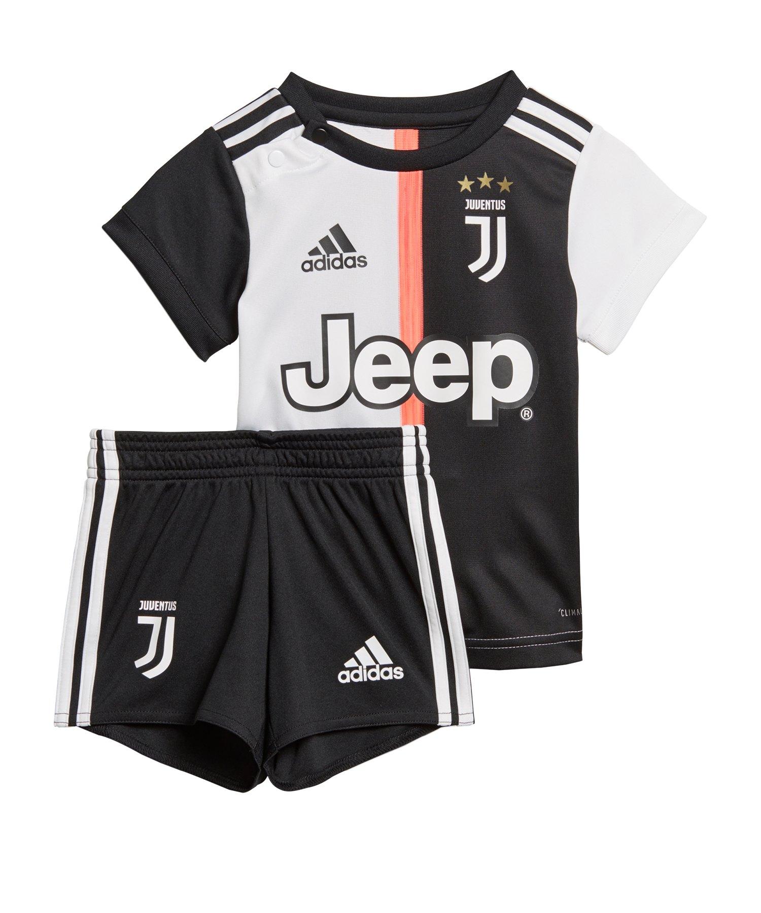 adidas Juventus Turin Babykit Home 2019/2020 - Schwarz