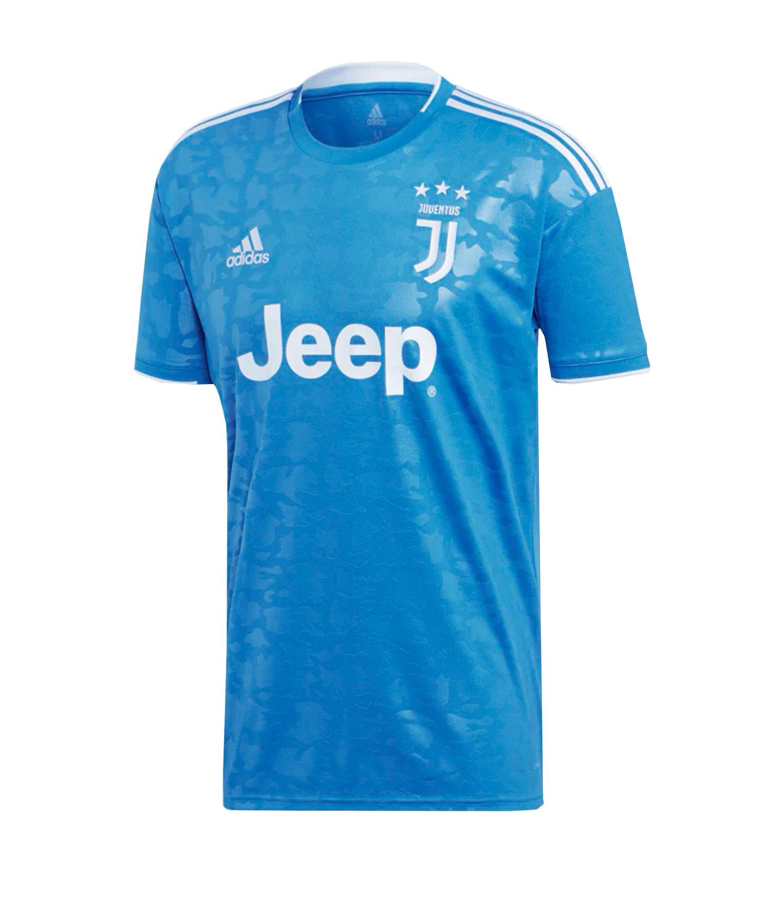 adidas Juventus Turin Trikot UCL 2019/2020 Kids - blau