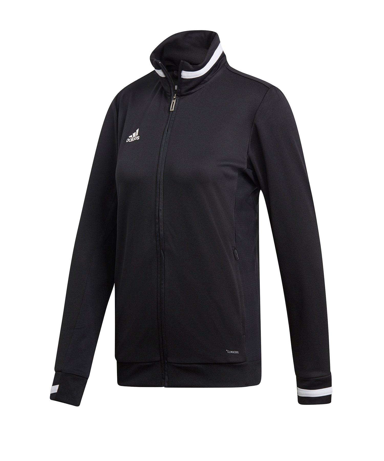 adidas Team 19 Track Jacket Damen Schwarz Weiss - schwarz