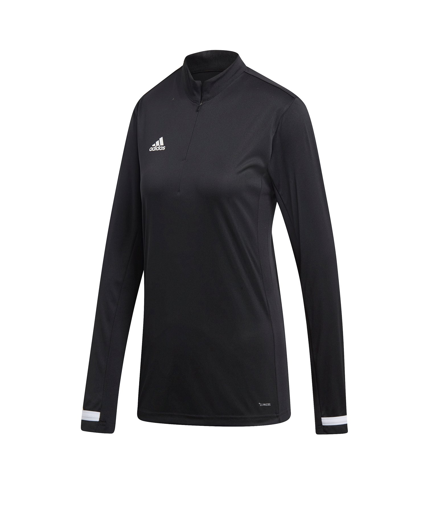 adidas Team 19 1/4 Zip Training Top Damen Schwarz - schwarz
