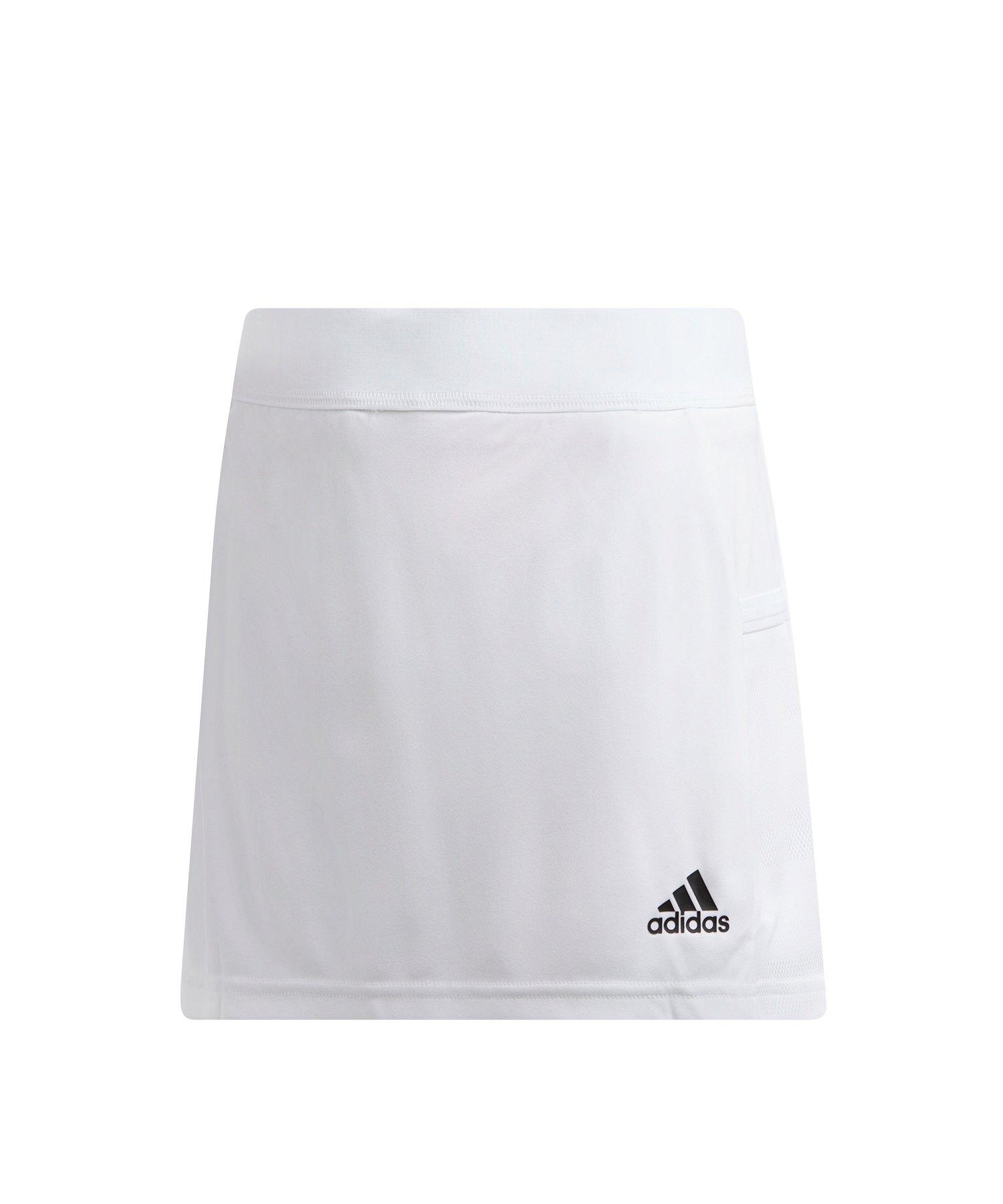 adidas Team 19 Skirt Rock Kids Weiss - weiss