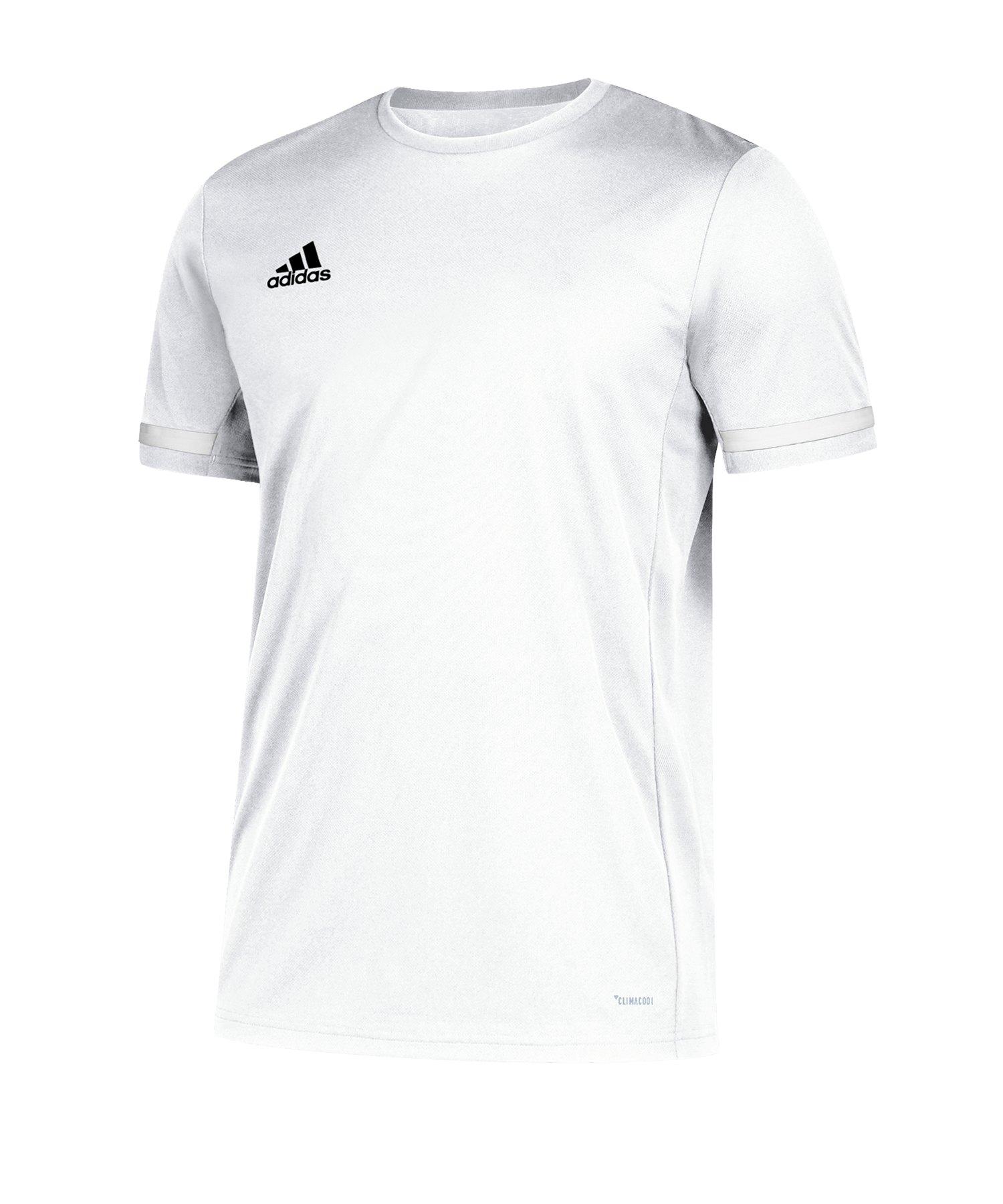 adidas Team 19 Trikot kurzarm Weiss - weiss
