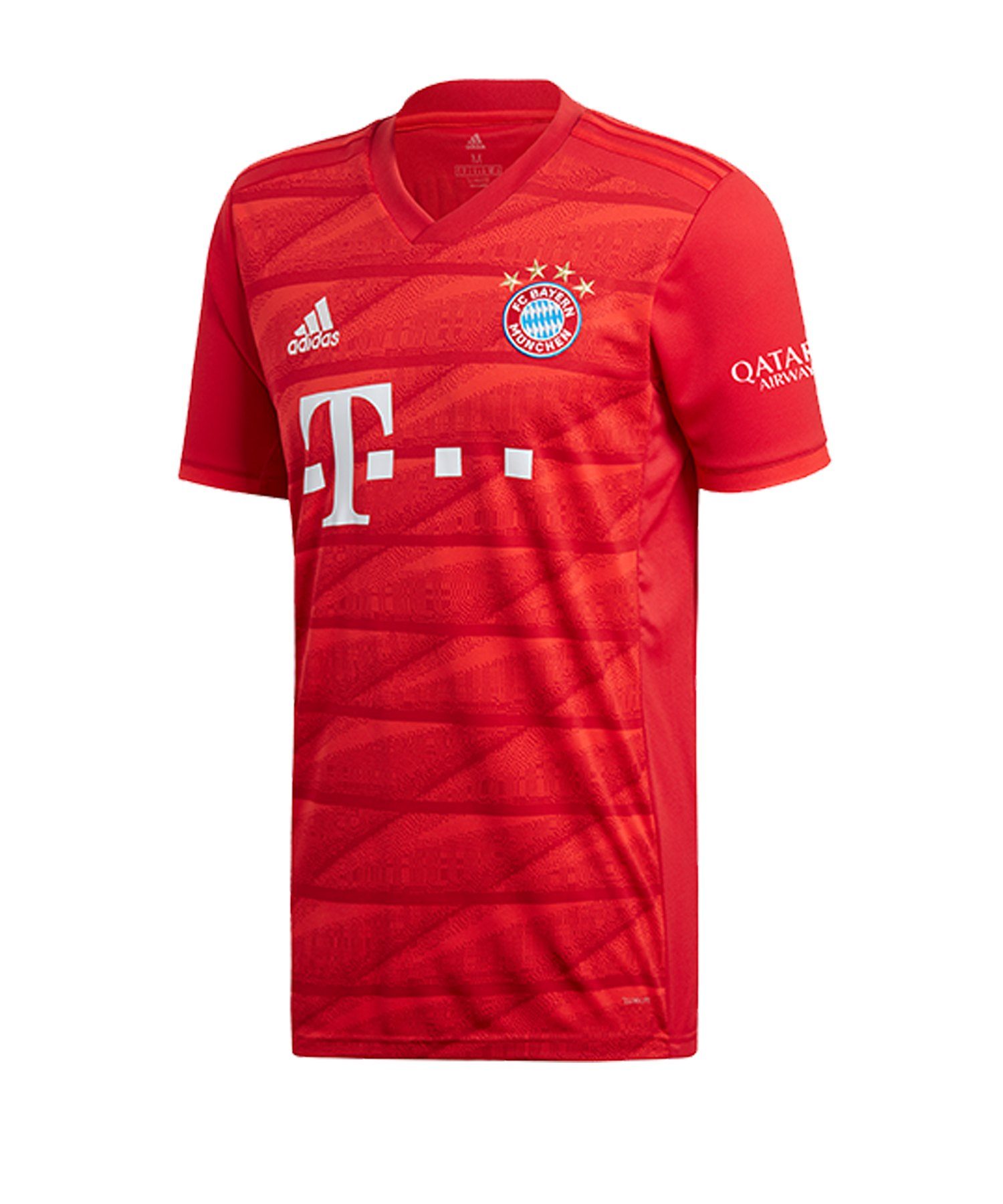 adidas FC Bayern München Trikot Home 2019/2020 Rot - Rot