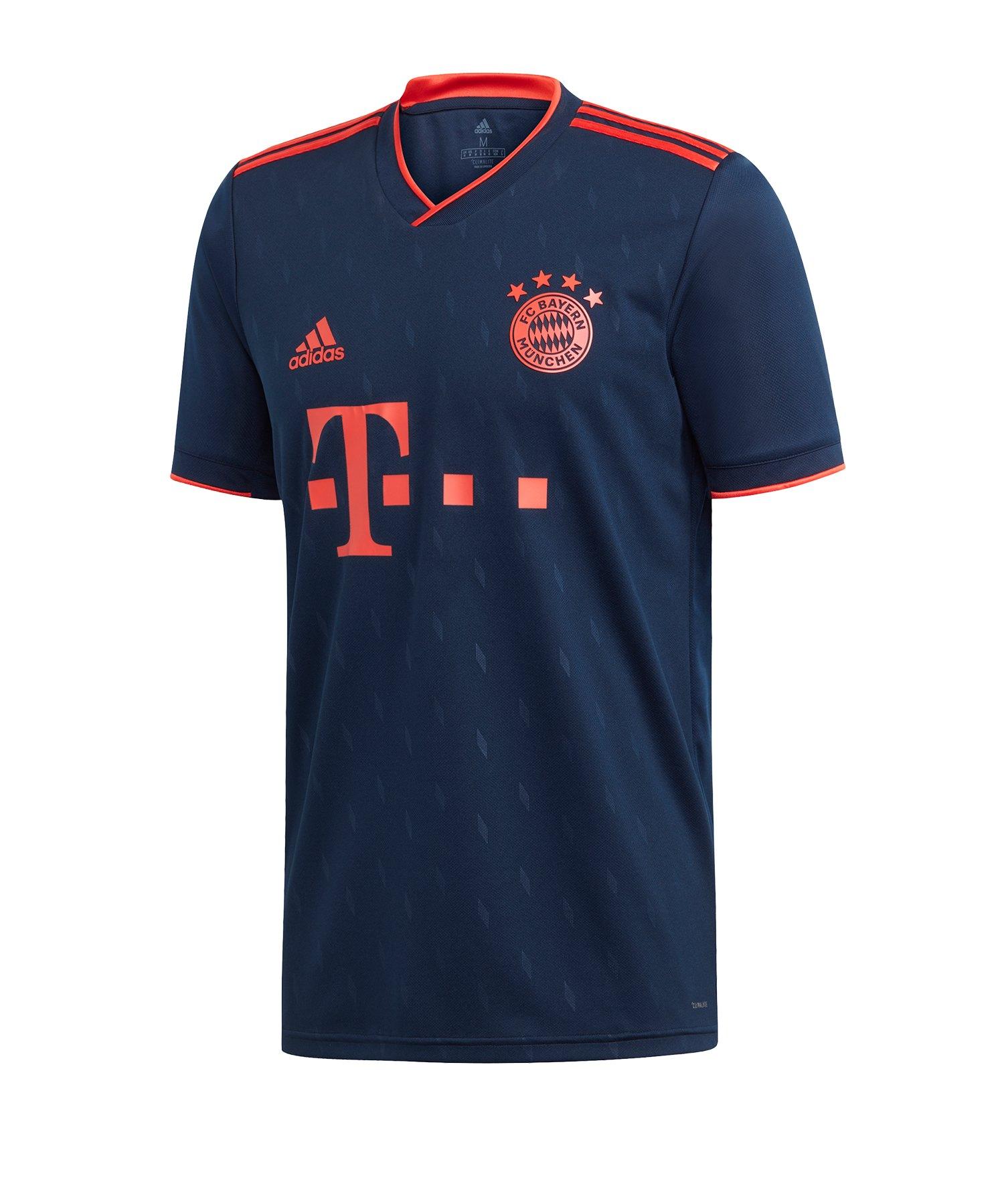 adidas FC Bayern München Trikot UCL 2019/2020 Blau - blau