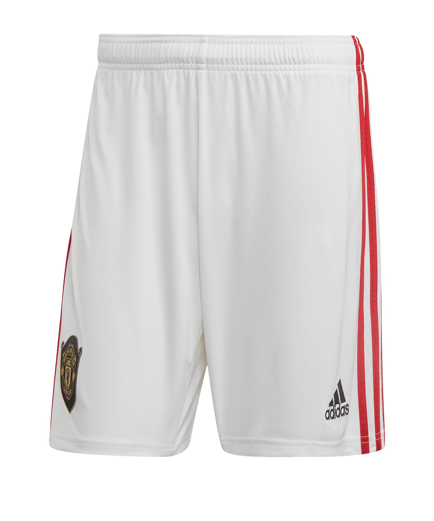 adidas Manchester United Short Home 2019/2020 - Weiss