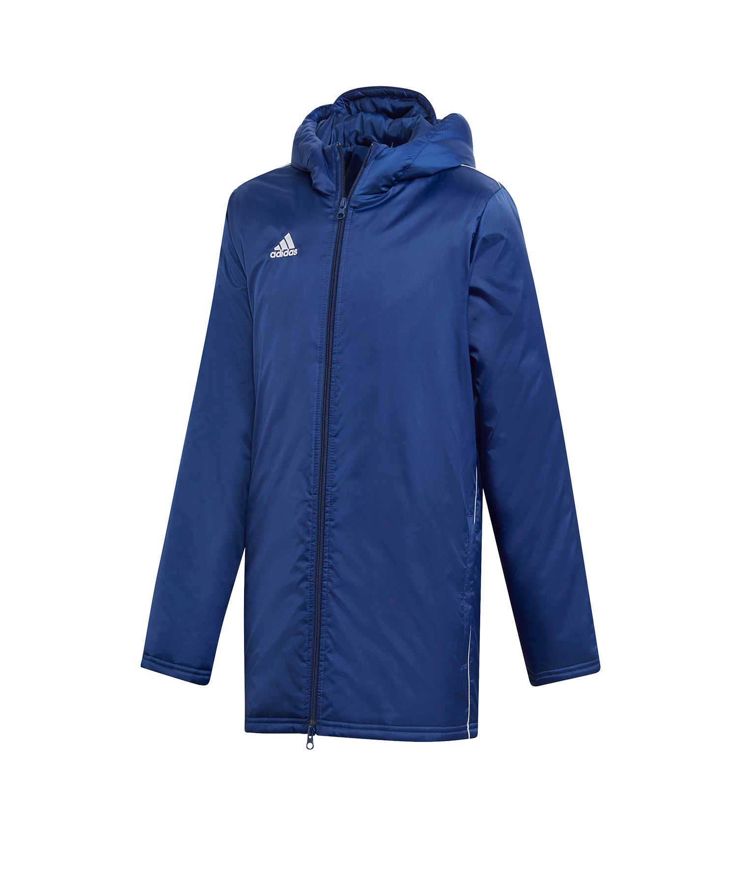 adidas Core 18 Stadium Jacket Jacke Kids Blau - blau