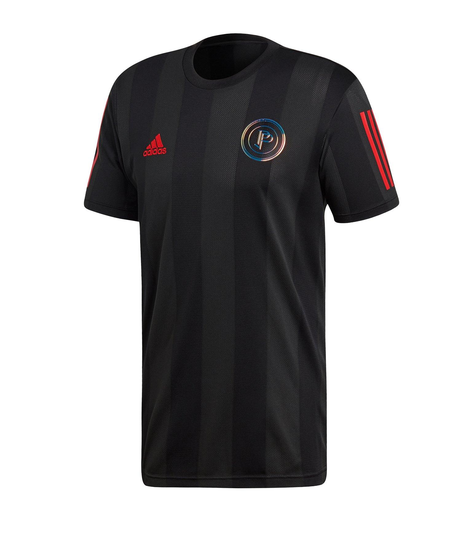 adidas Paul Pogba Jersey Shirt Schwarz - schwarz