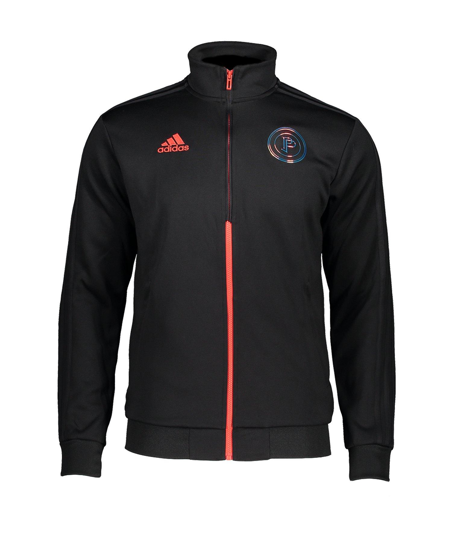 adidas Paul Pogba Trainingsjacke Schwarz - schwarz